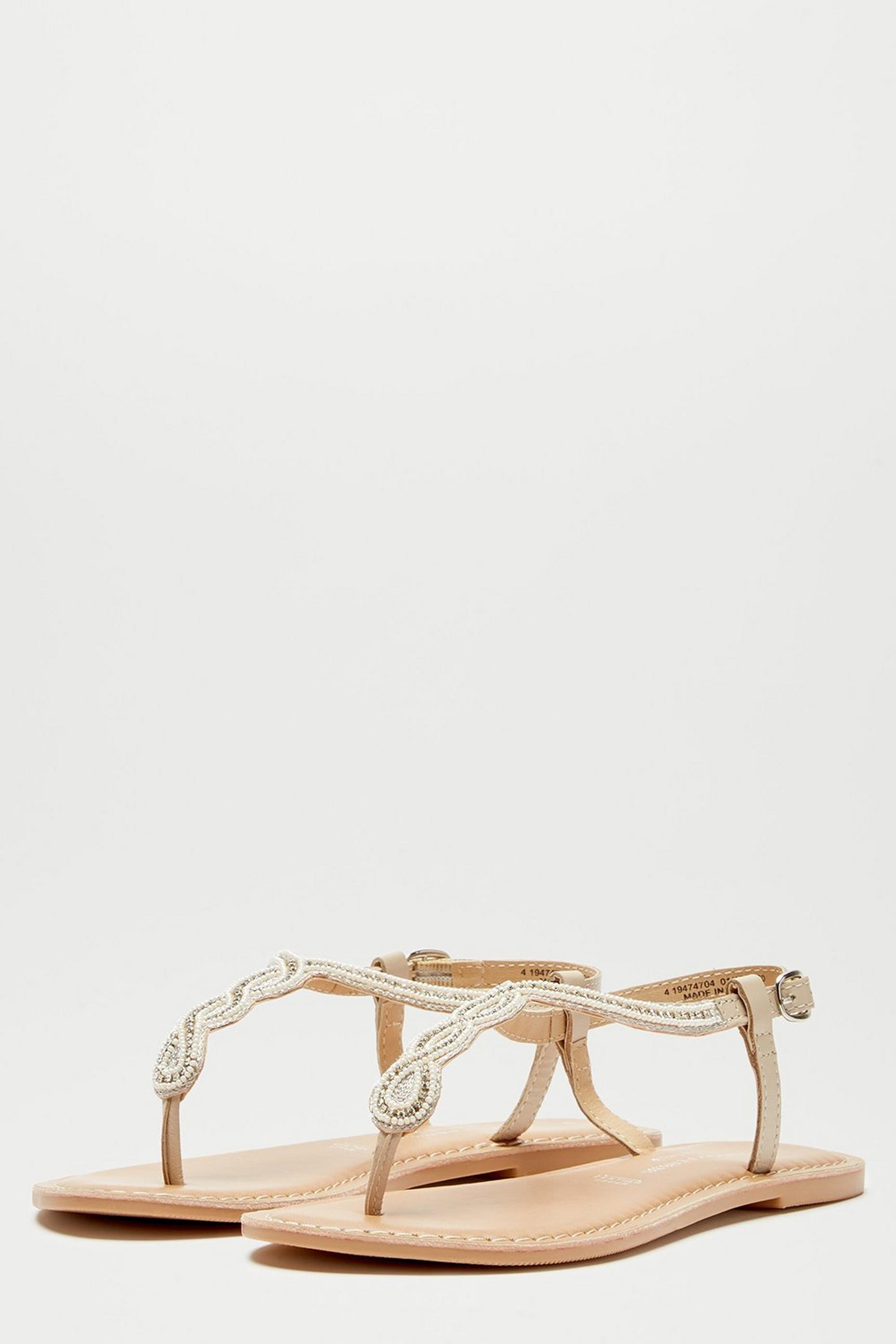 Leather White Jagger Sandal