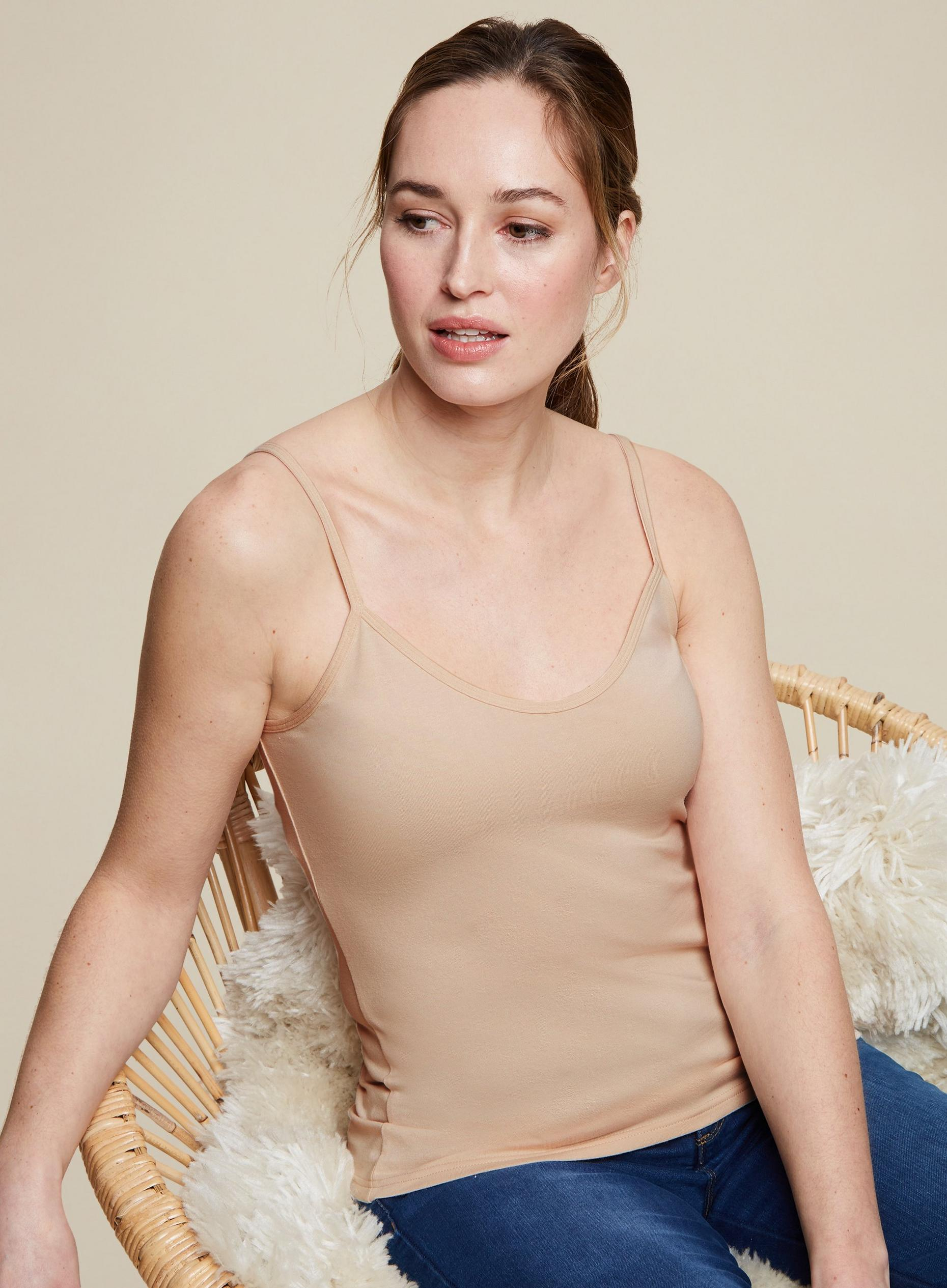 Organic Cotton Basic Cami