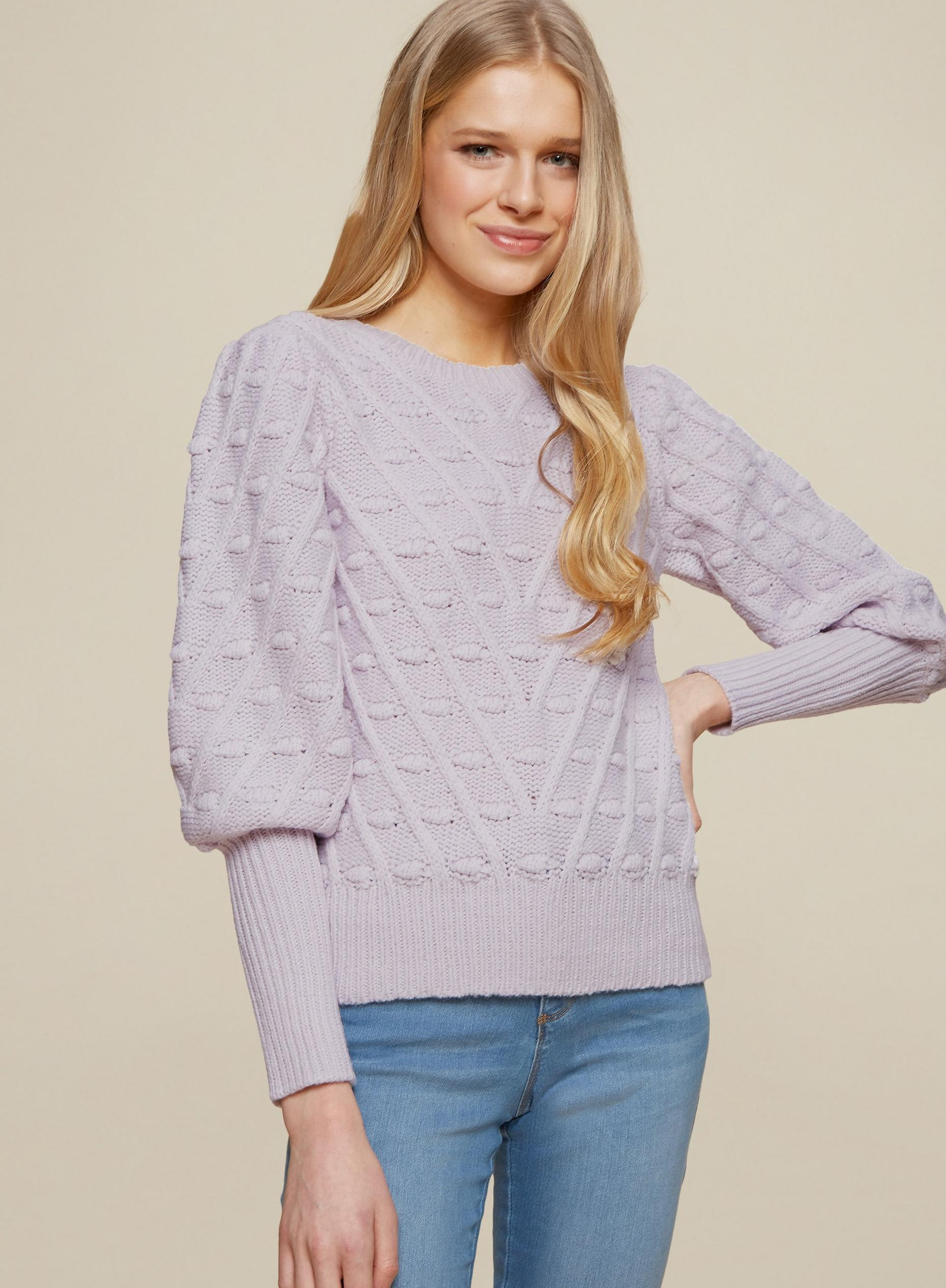 Lilac Bobble Jumper