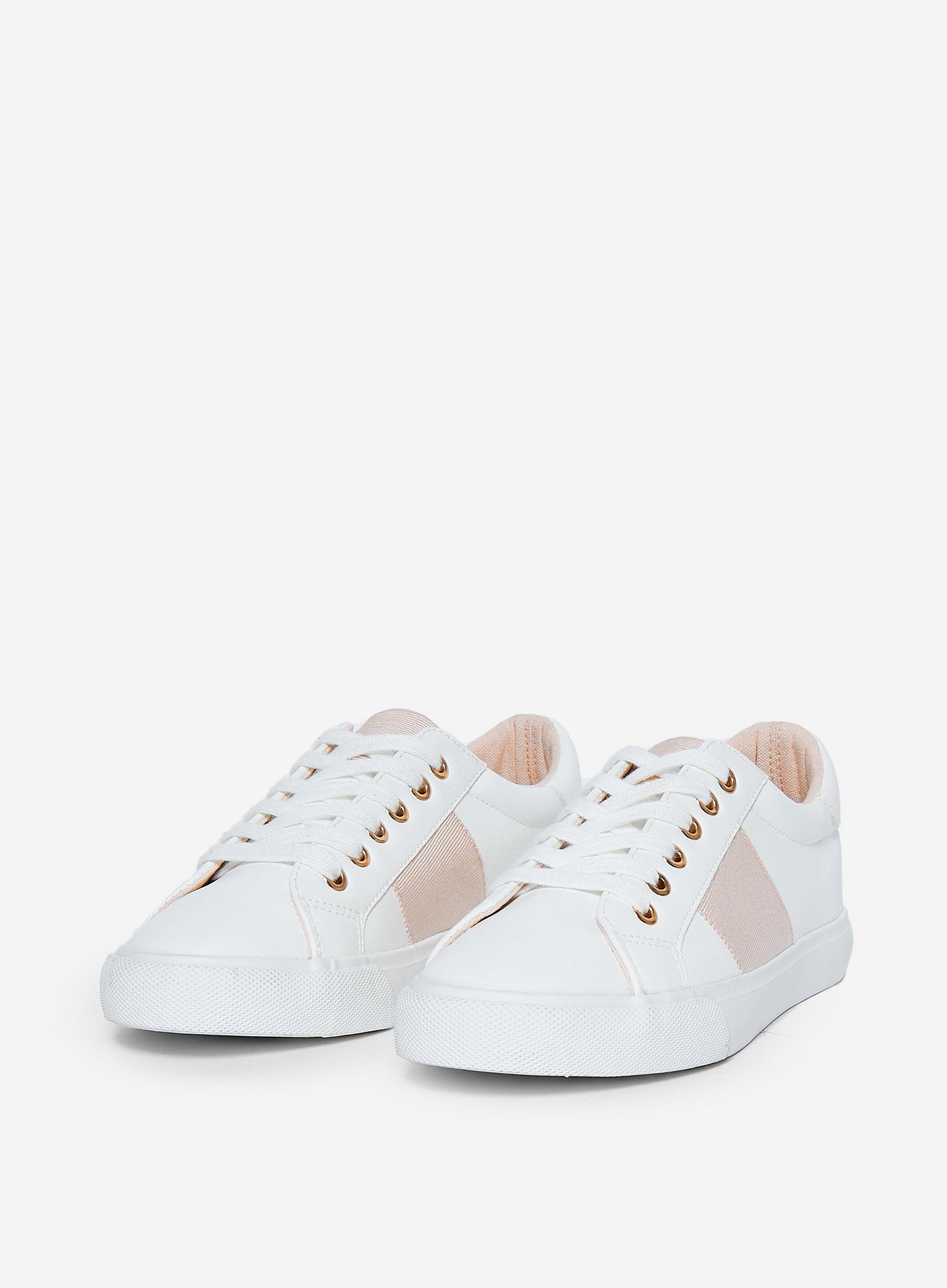 White Designed Imogen Trainers