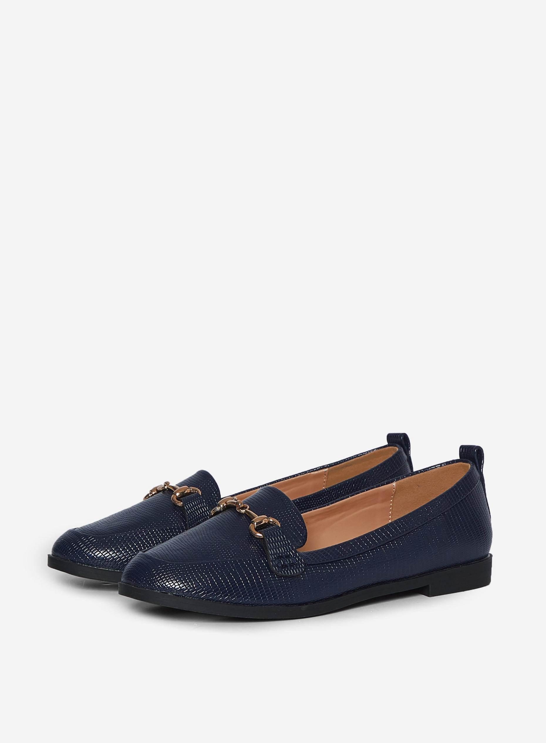 Navy Lizard Lula Loafers