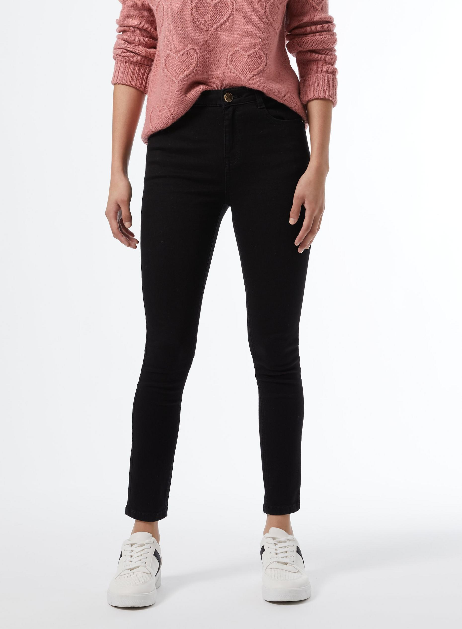 Petites Black Shaping Jeans