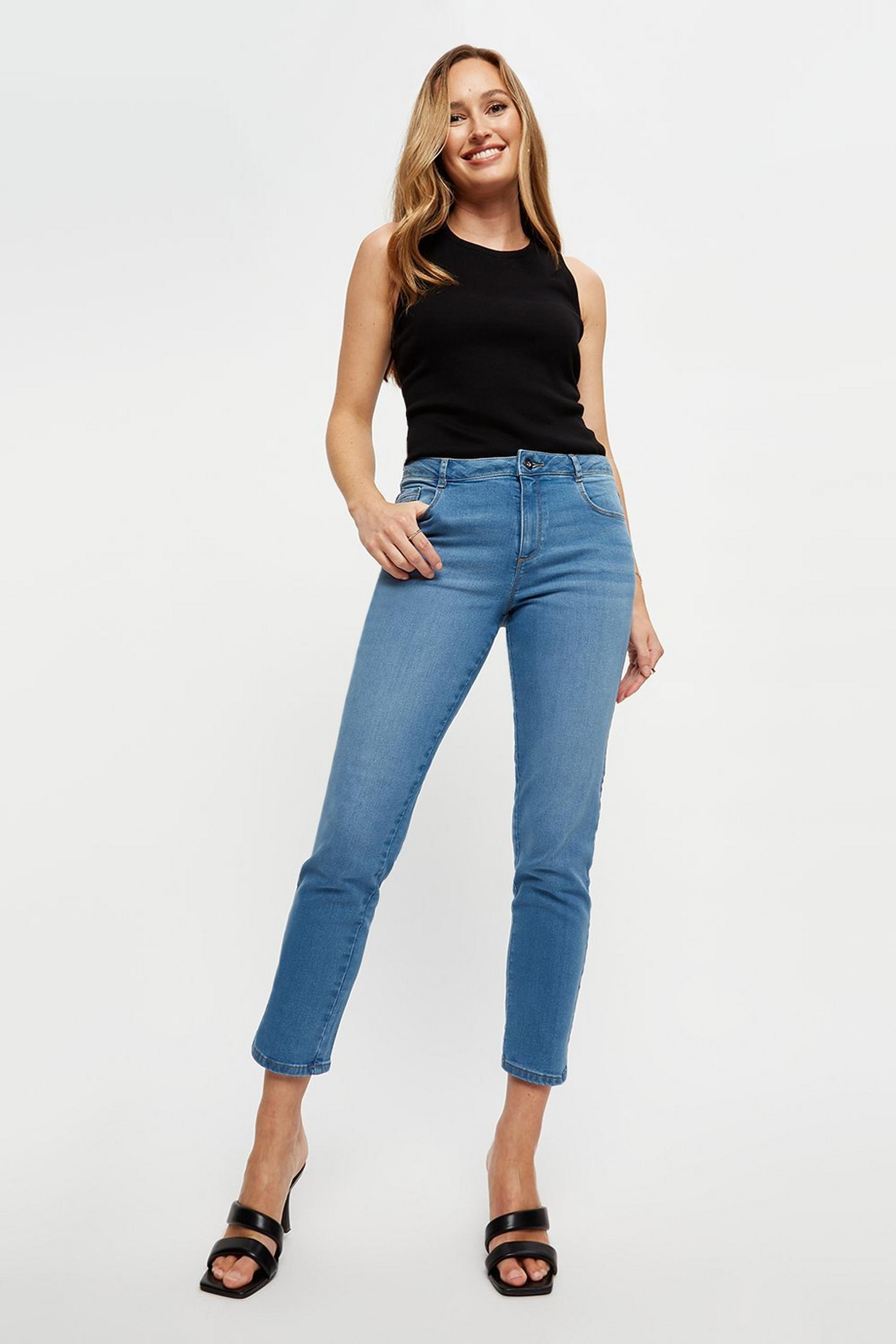 Lightwash Short Ellis Slim Jeans