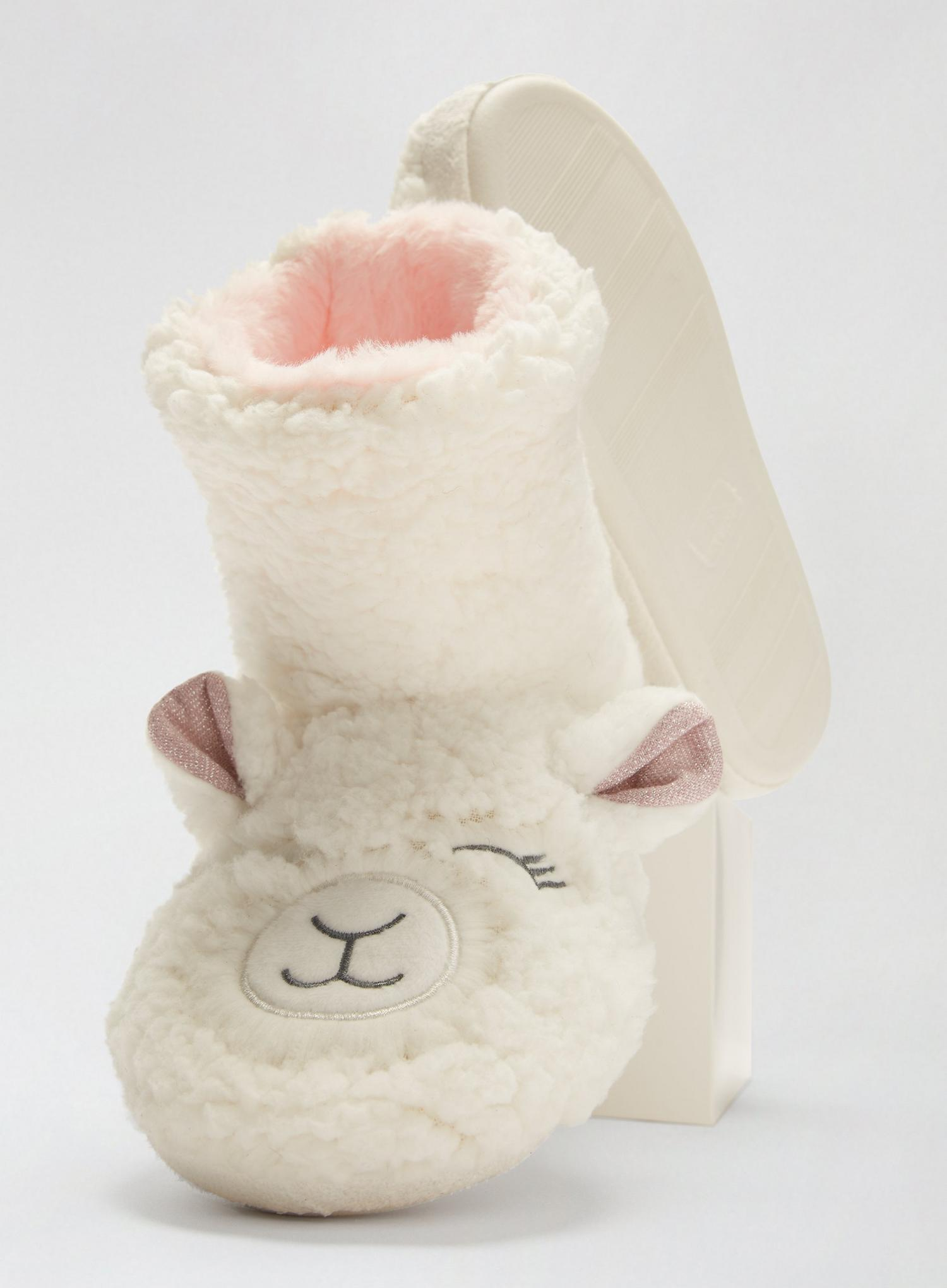 173 White Novelty Lamb Boots image number 4