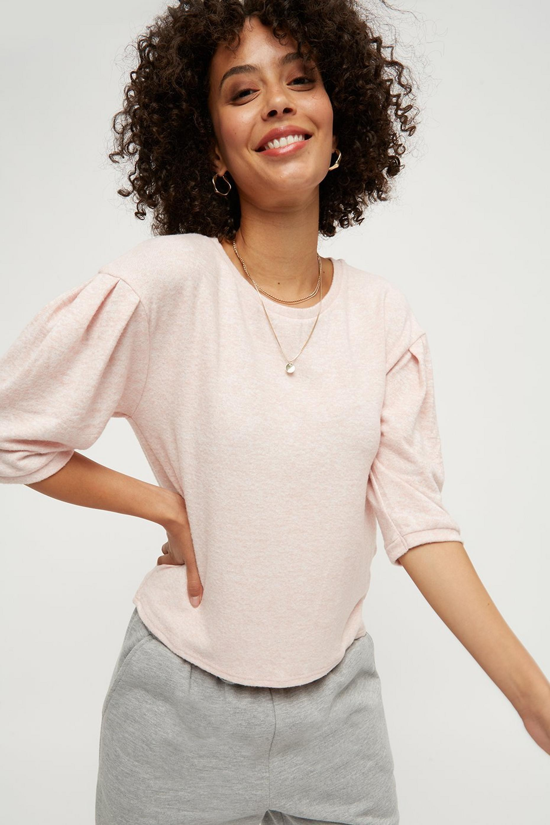 Pink Soft Touch T-Shirt