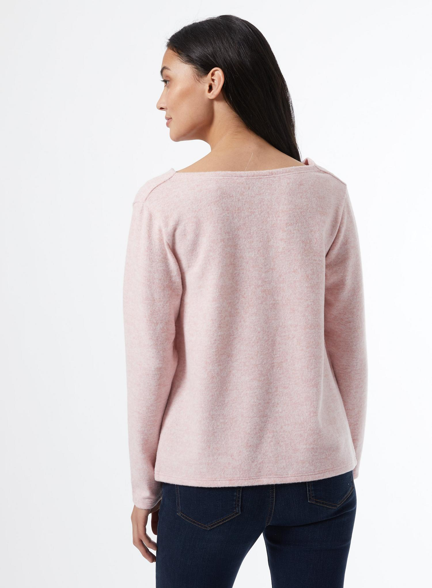 153 Petite Blush Cowl Neck Jumper image number 2