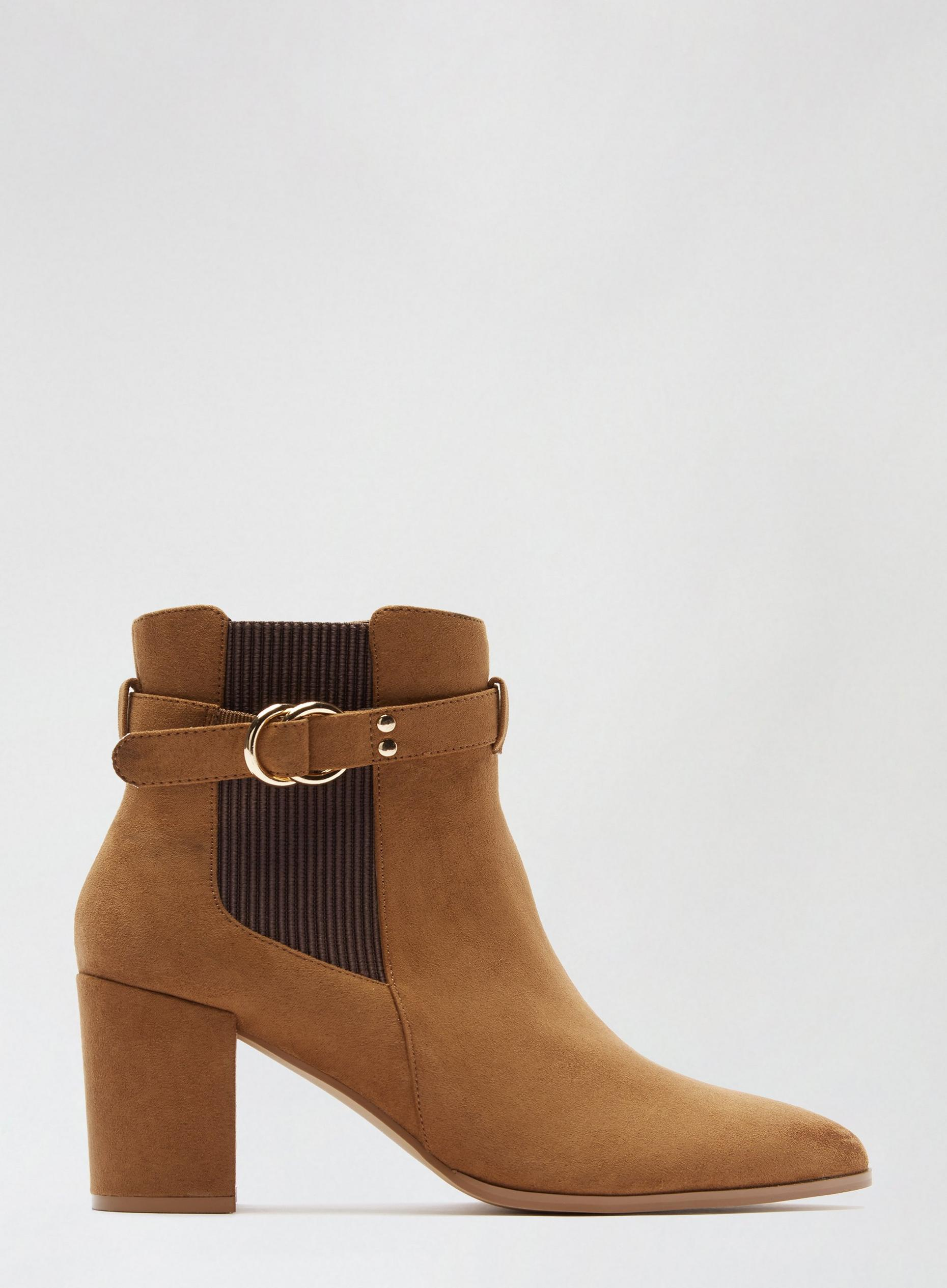 Wide Fit Tan Almie Boots