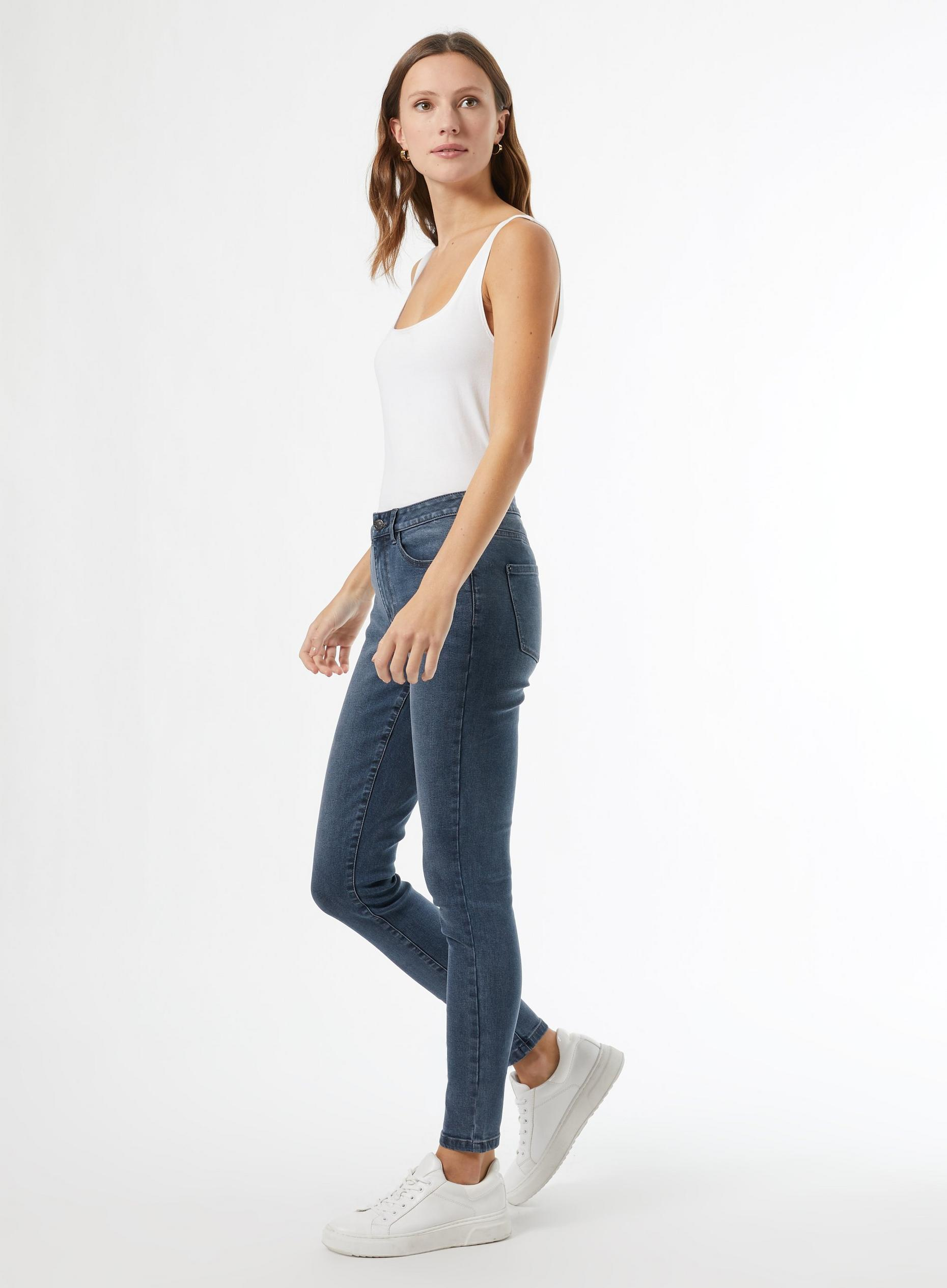 Smoky Blue Regular Alex Jeans