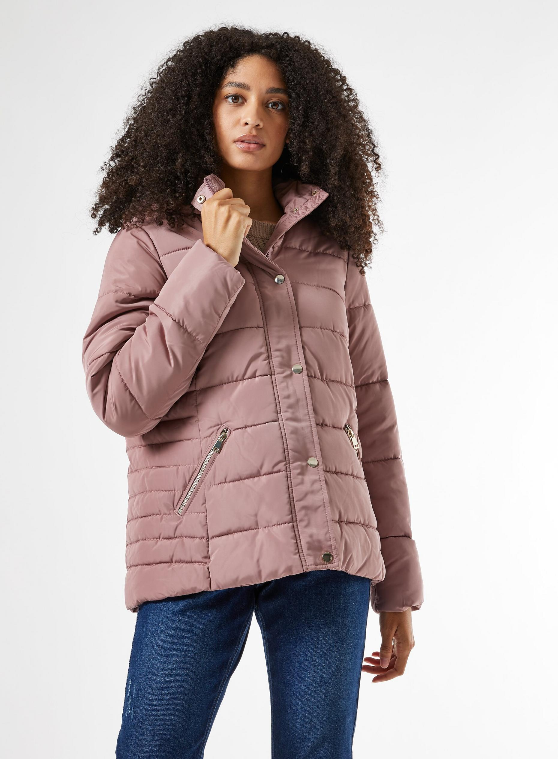 Blush Short Padded Coat