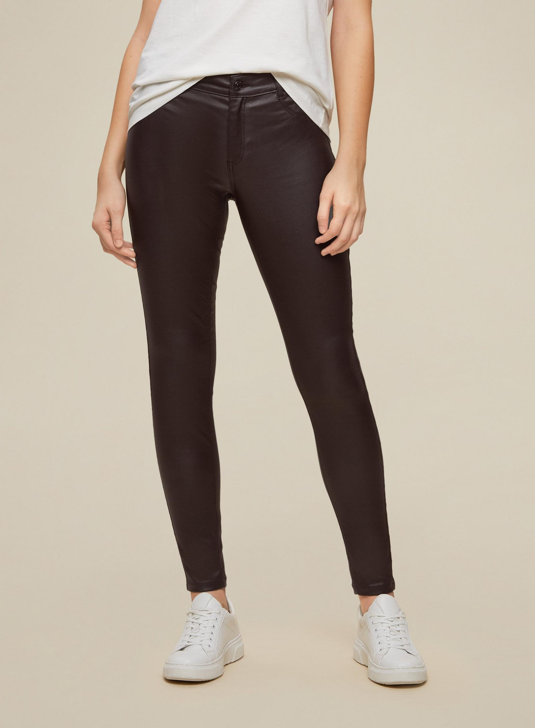 Berry Regular Coated Frankie Skinny Jeans