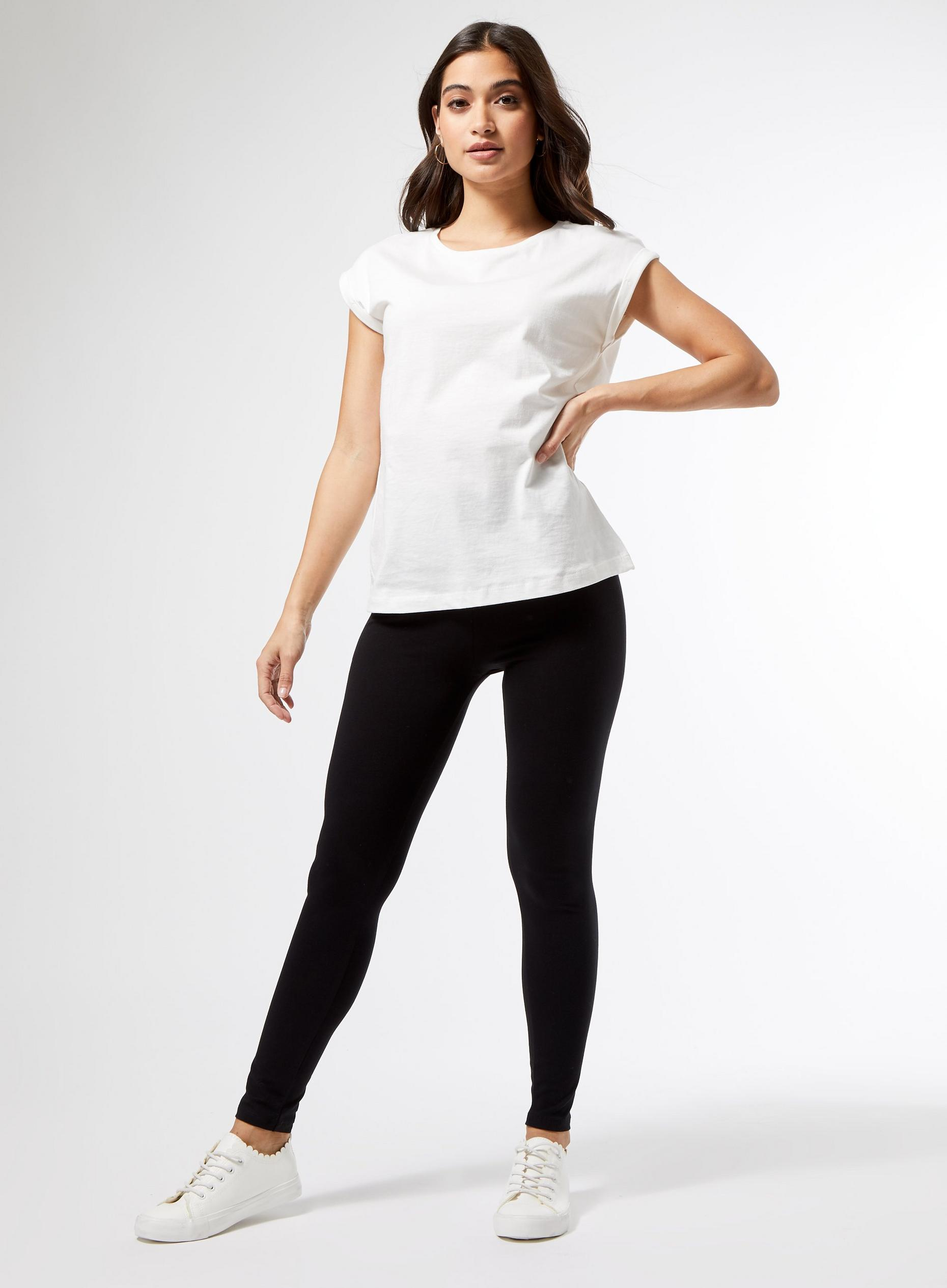 DP Petite 2 Pack Jersey Leggings