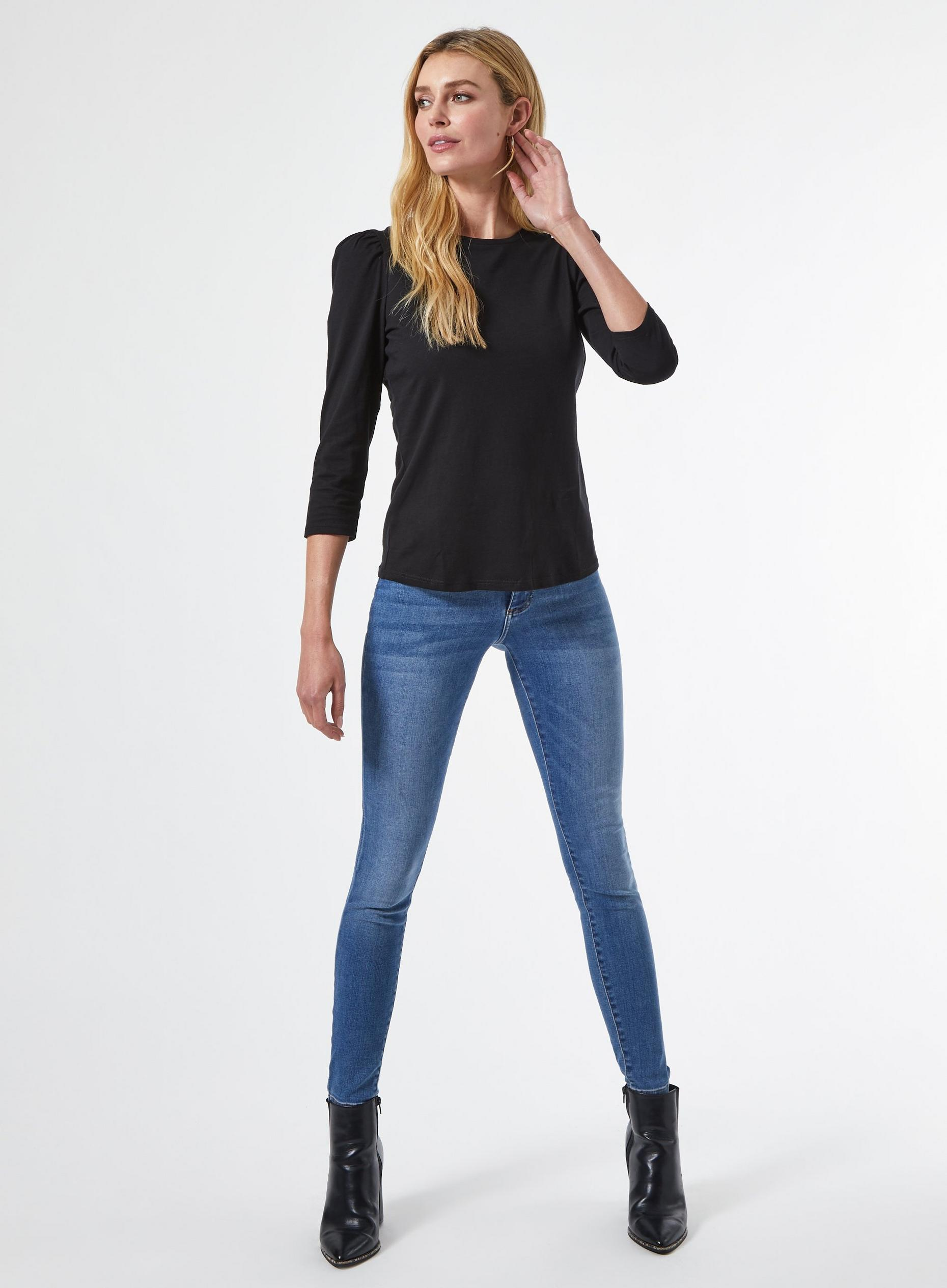 2 Pack Black Organic Cotton Tops