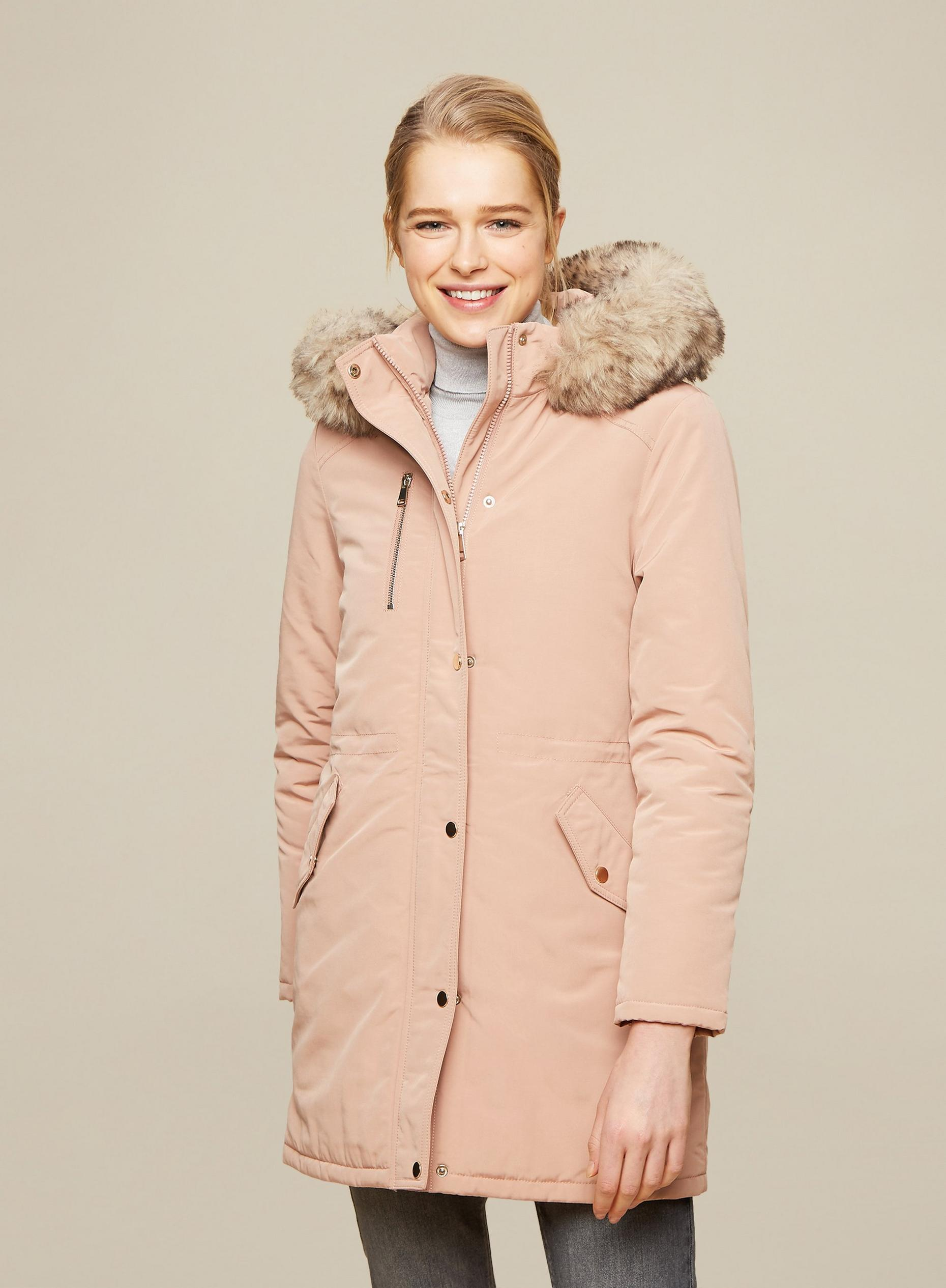 Blush Luxe Parka