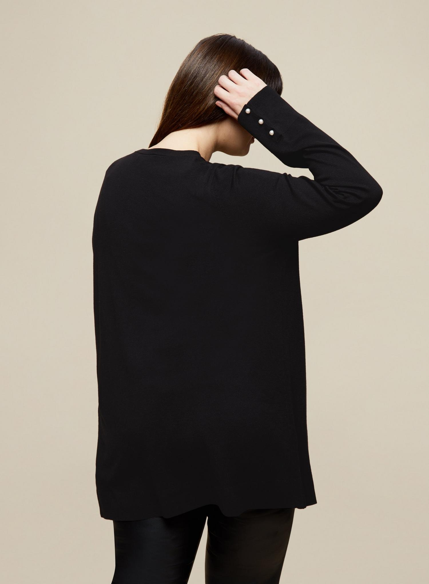 105 Curve Black Cardigan image number 4