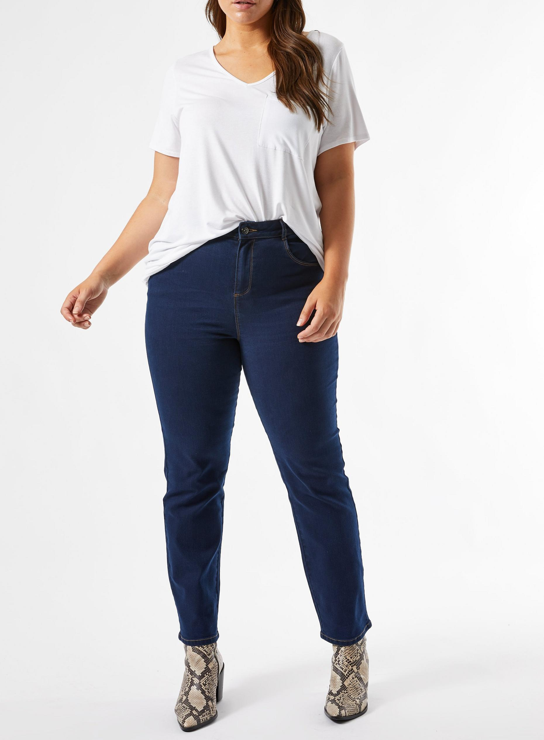 Curve Blue Ellis Slim Denim Jean