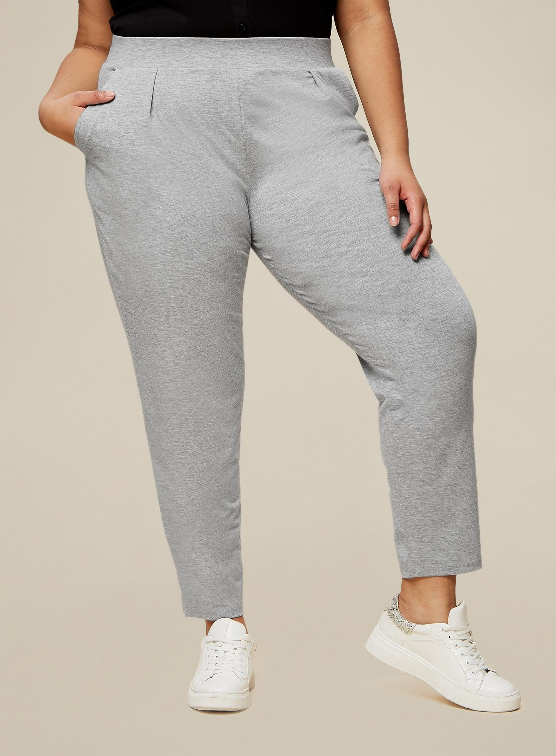 Curve Grey Jersey Joggers