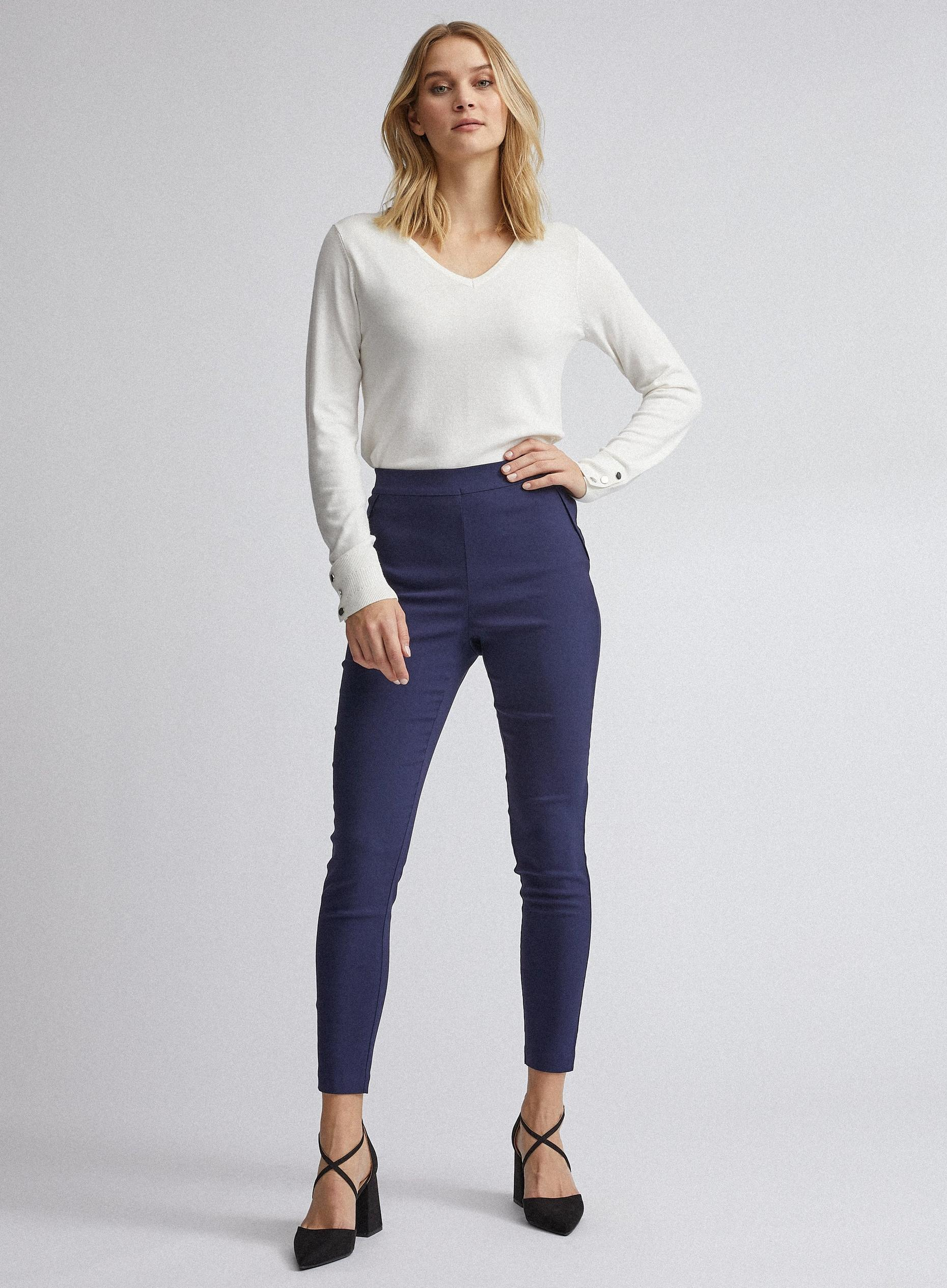 Navy Skinny Trouser