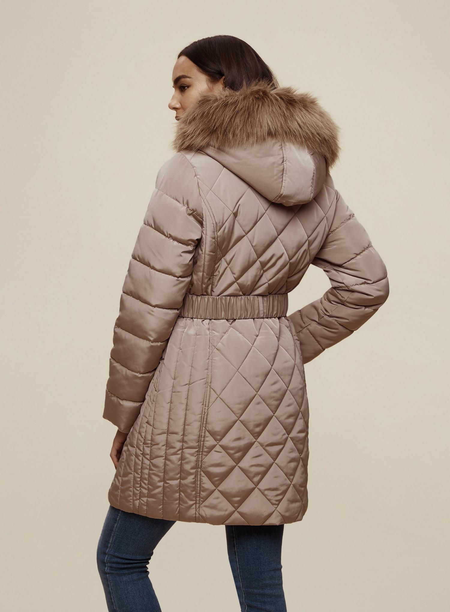 Dorothy Perkins Long Luxe Padded Jacket Blouson Femme