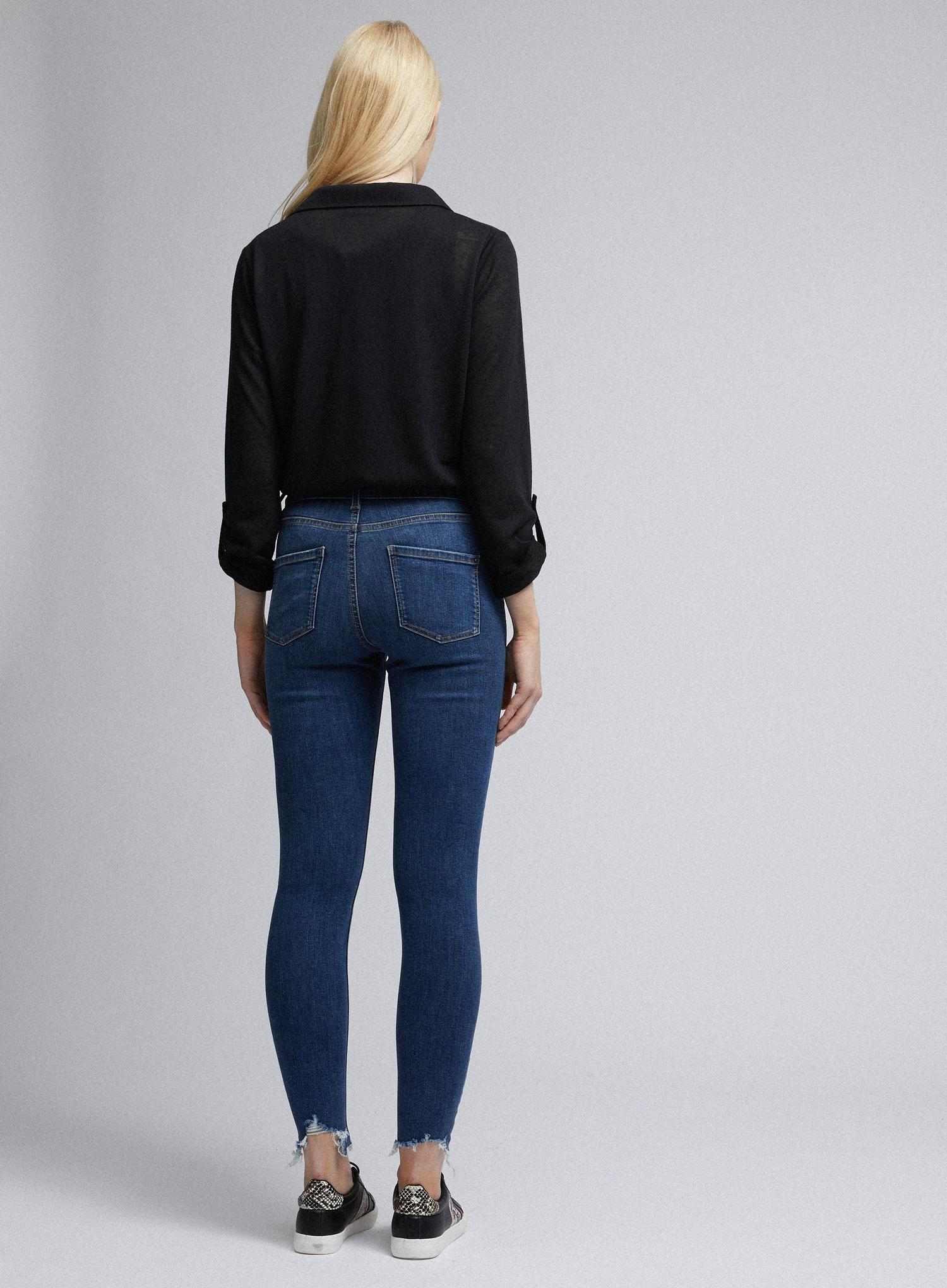 132 Organic Indigo Regular Nibble Darcy Jeans image number 2