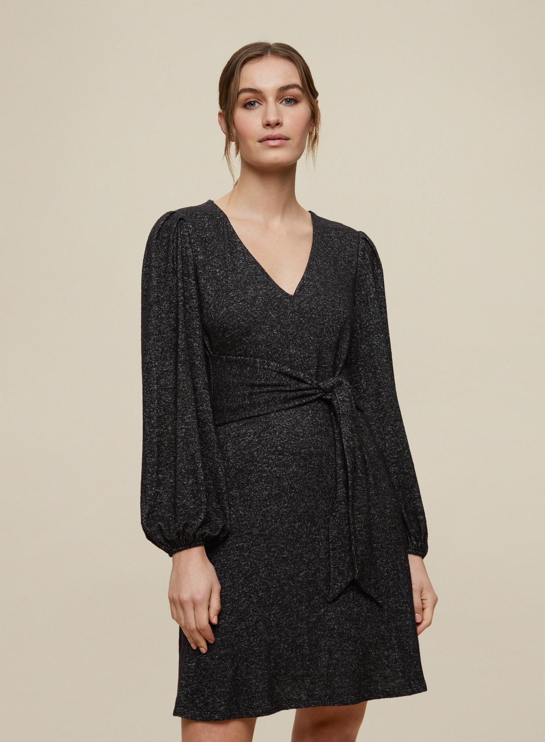 Charcoal Marl Soft Touch Dress