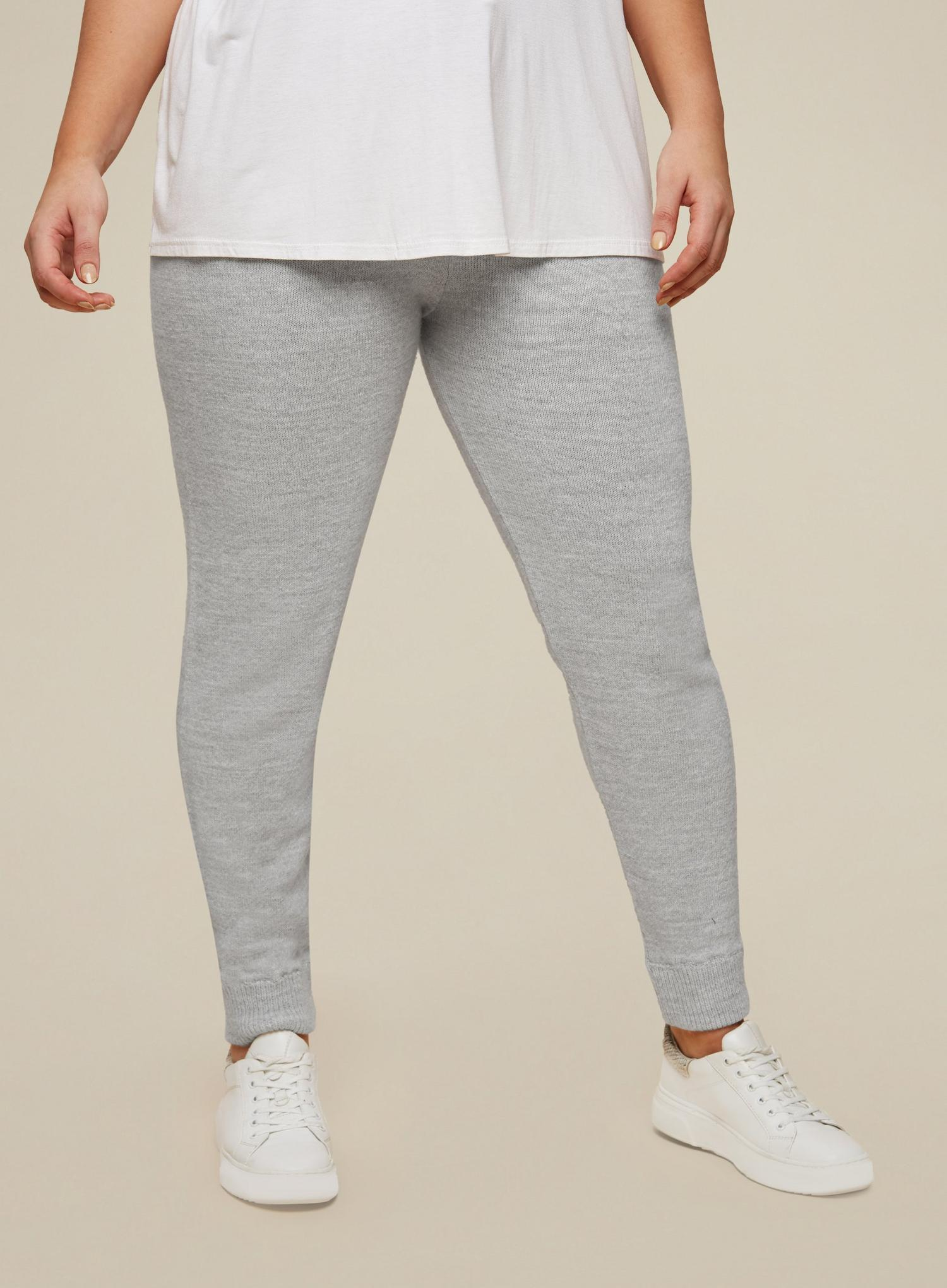 131 Curve Grey Lounge Knitted Joggers image number 1