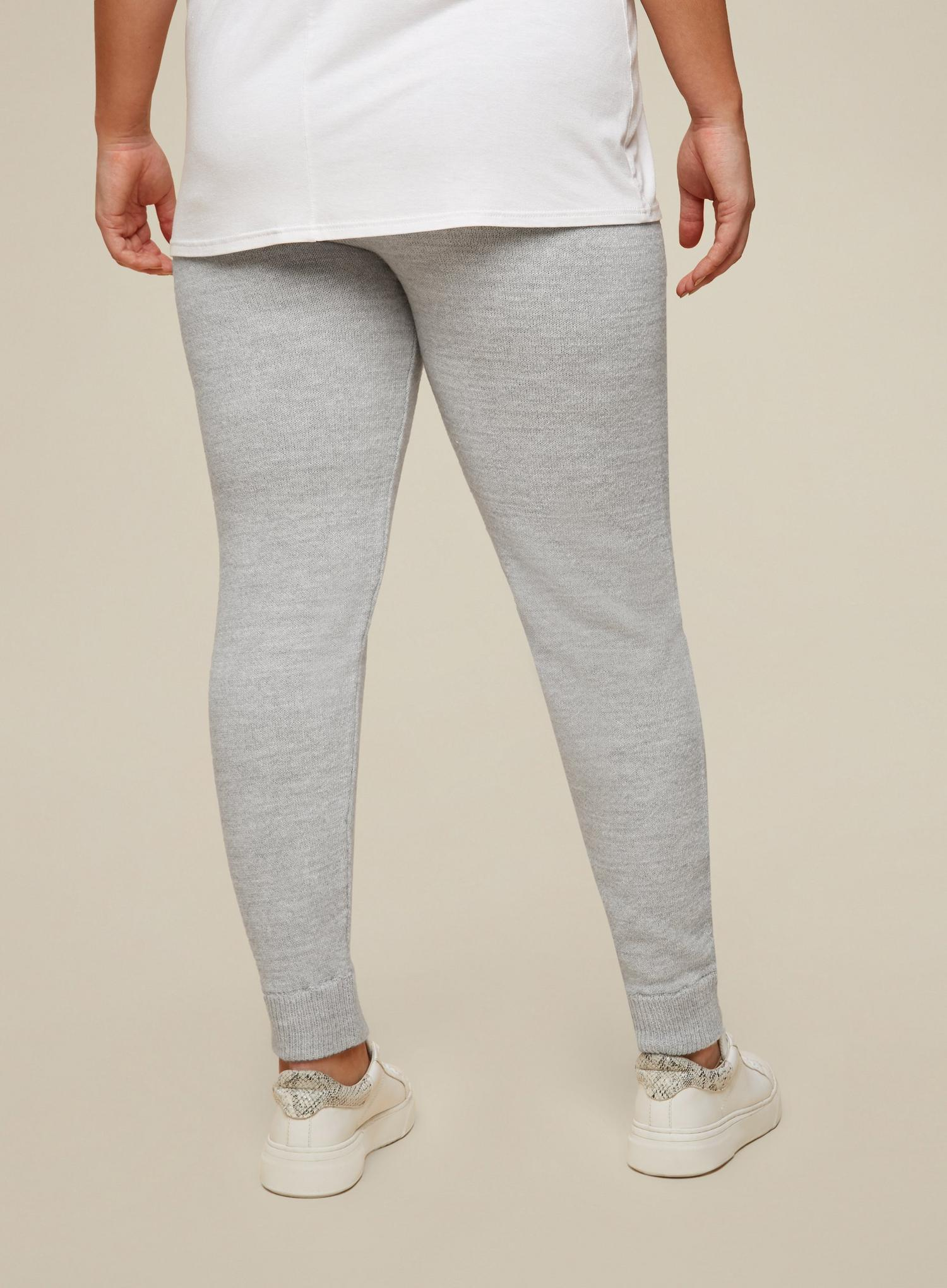131 Curve Grey Lounge Knitted Joggers image number 2