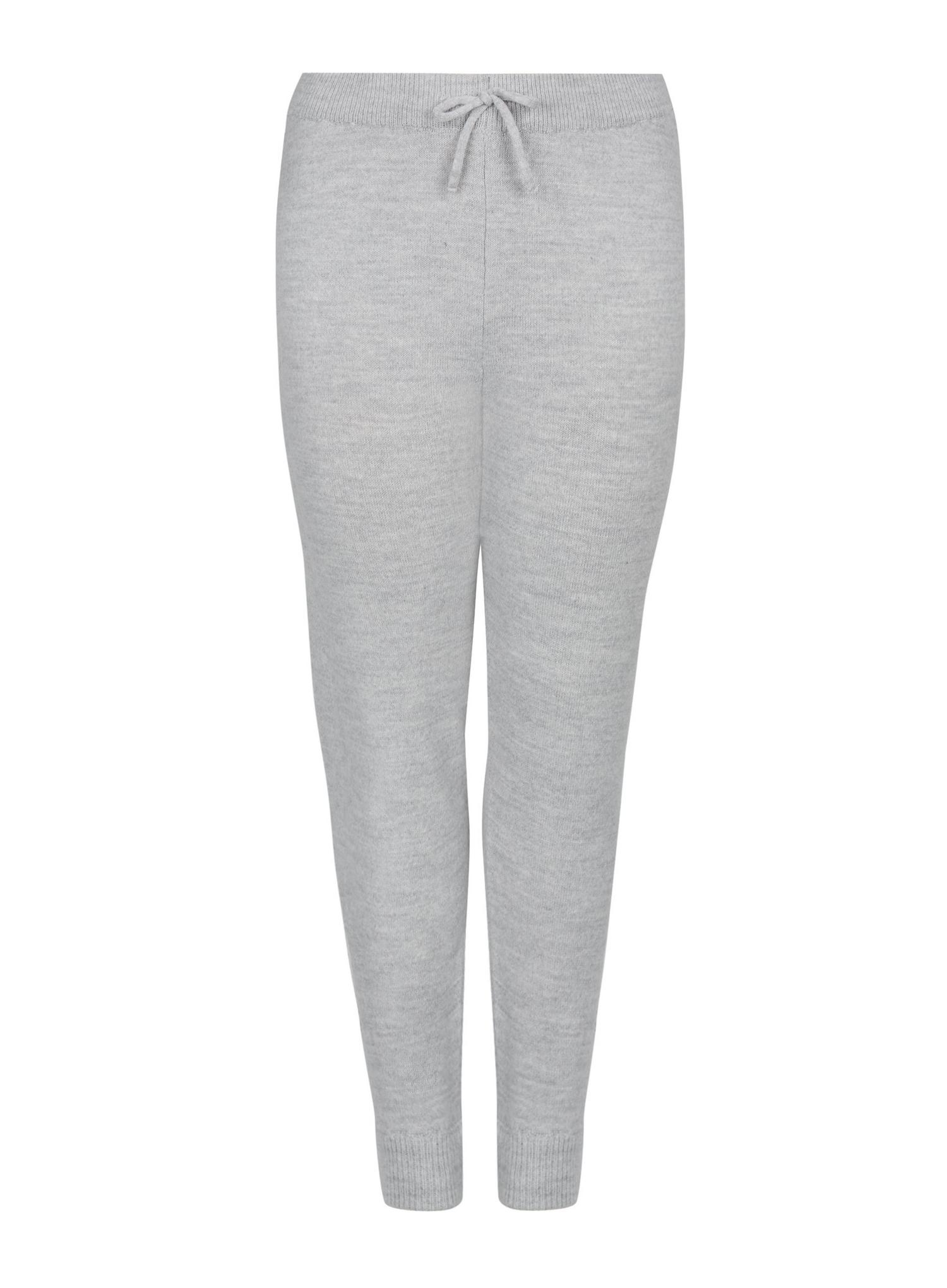131 Curve Grey Lounge Knitted Joggers image number 4
