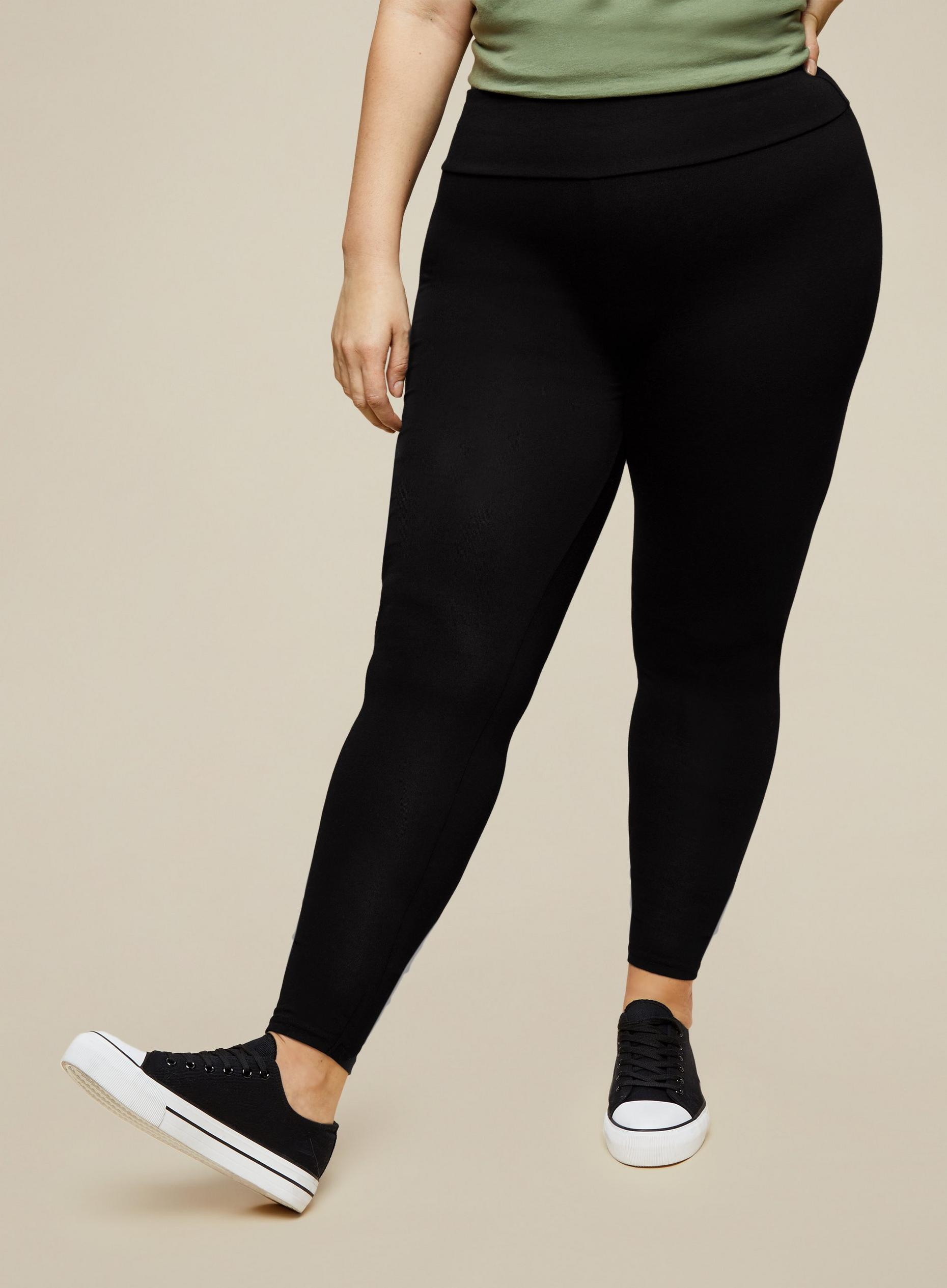 Curve Black 2 Pack Leggings