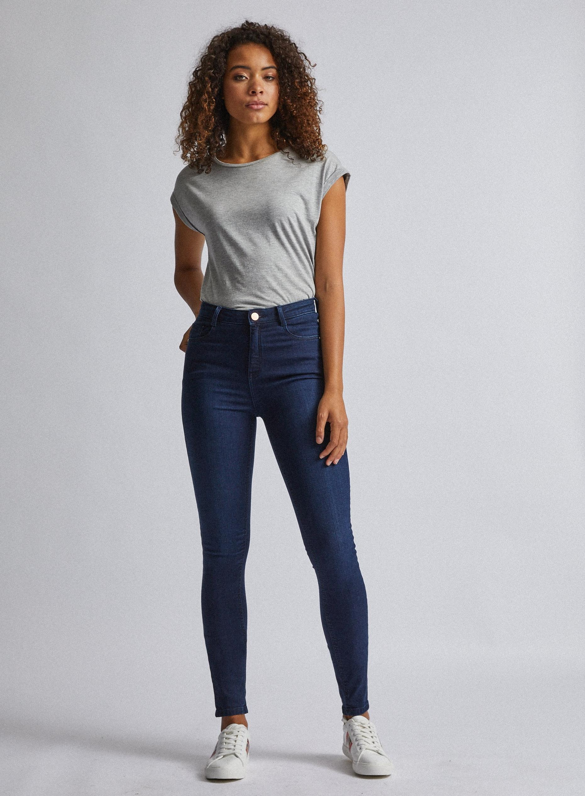 Tall Indigo Shaping Jeans