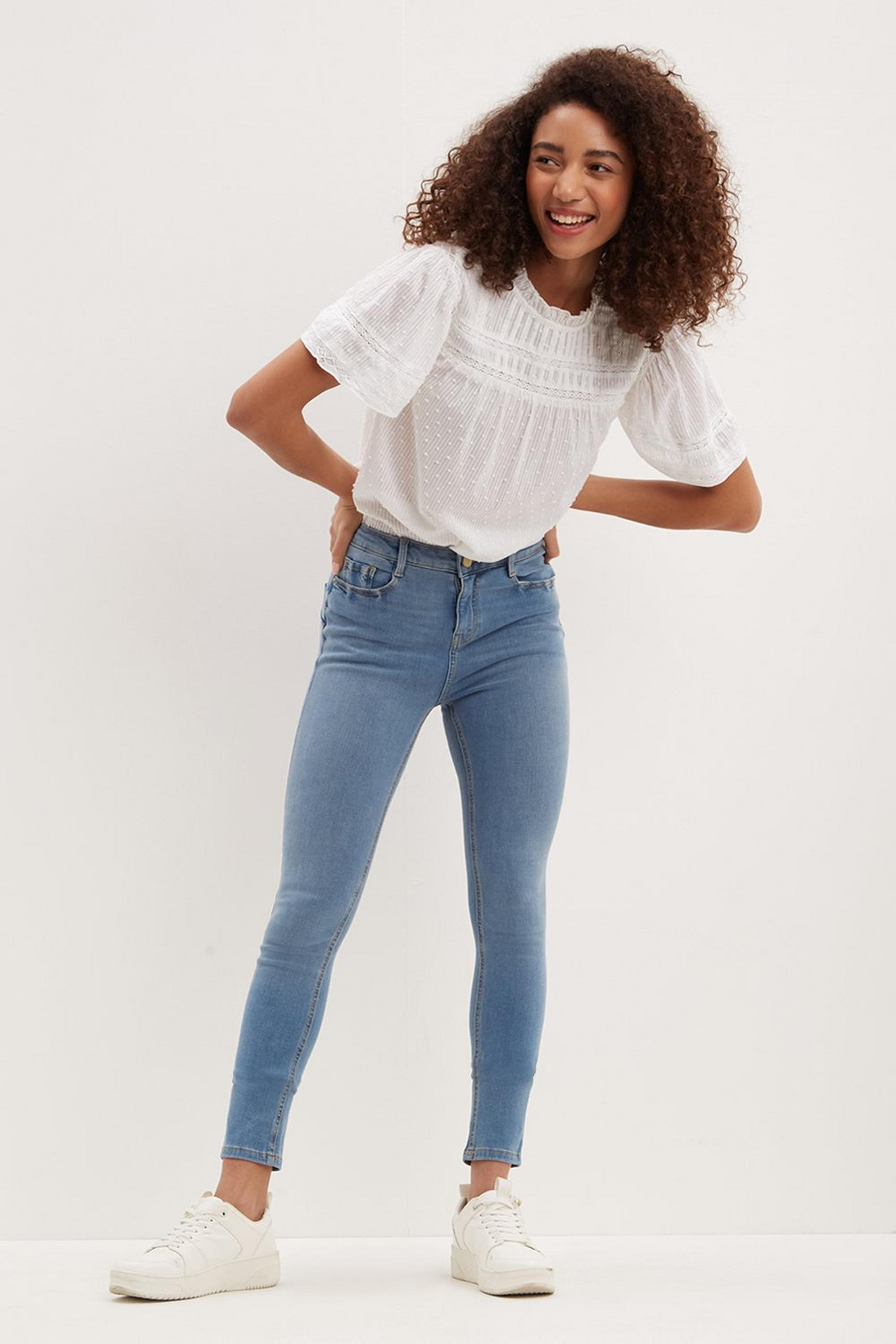 Shape and Lift Regular Jeans