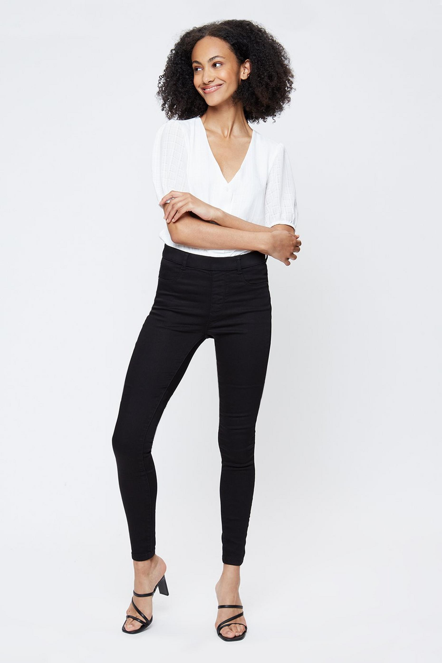 Tall Black Premium Eden Jeggings