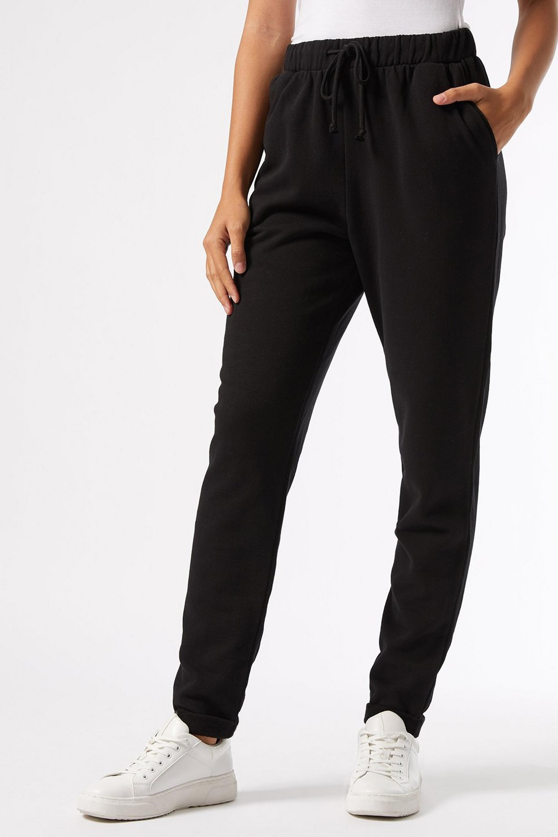 Tall Black Basic Joggers