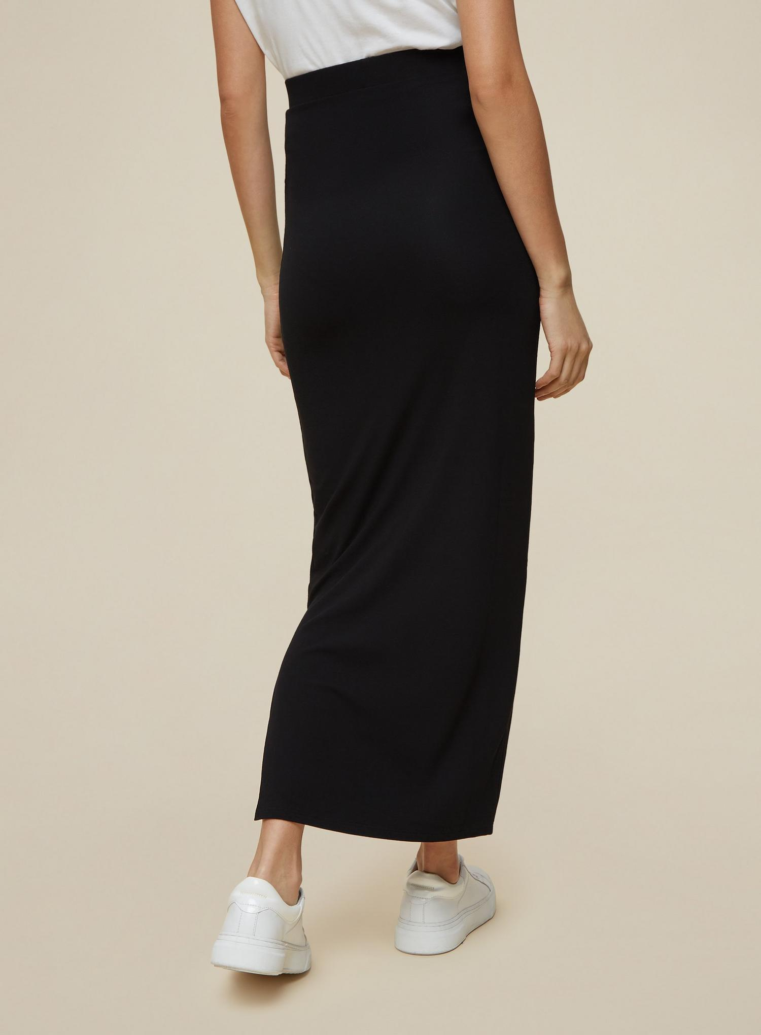 105 Tall Black Maxi Skirt image number 3