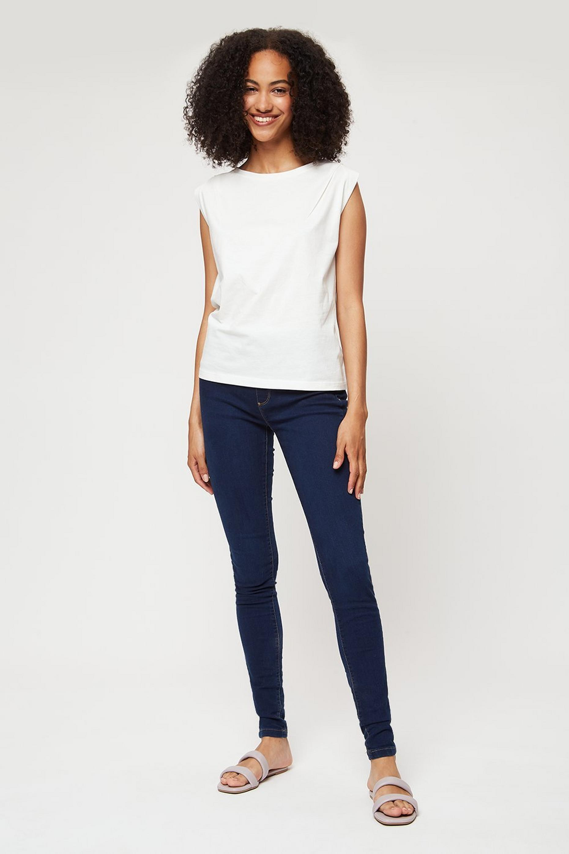 Tall Indigo Blue Eden Skinny Denim Jeggings