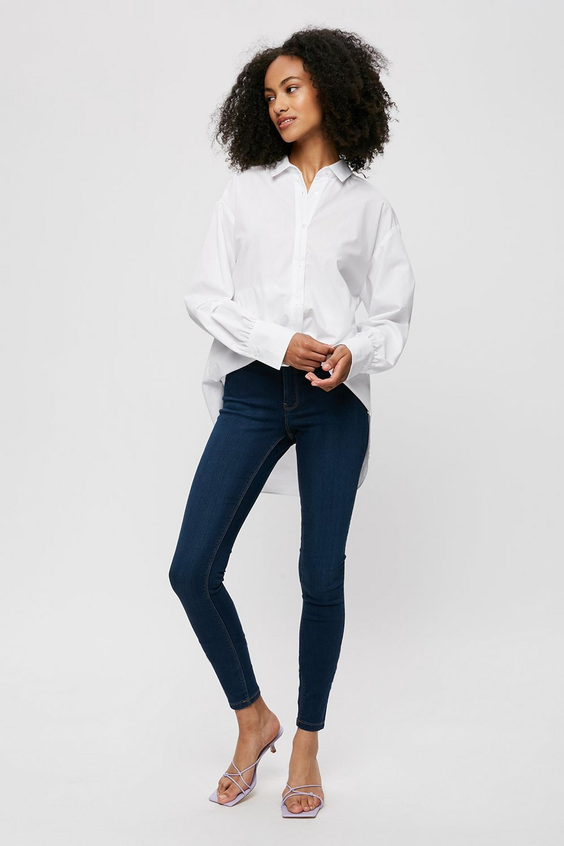 Tall Indigo Blue Frankie Denim Jeans