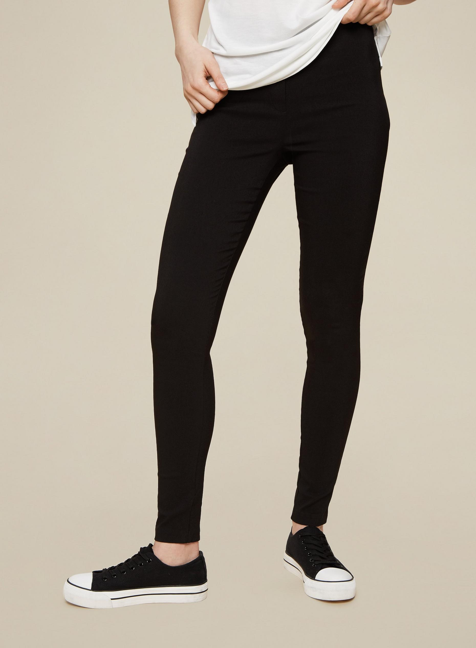 Tall Black Bengaline Trousers