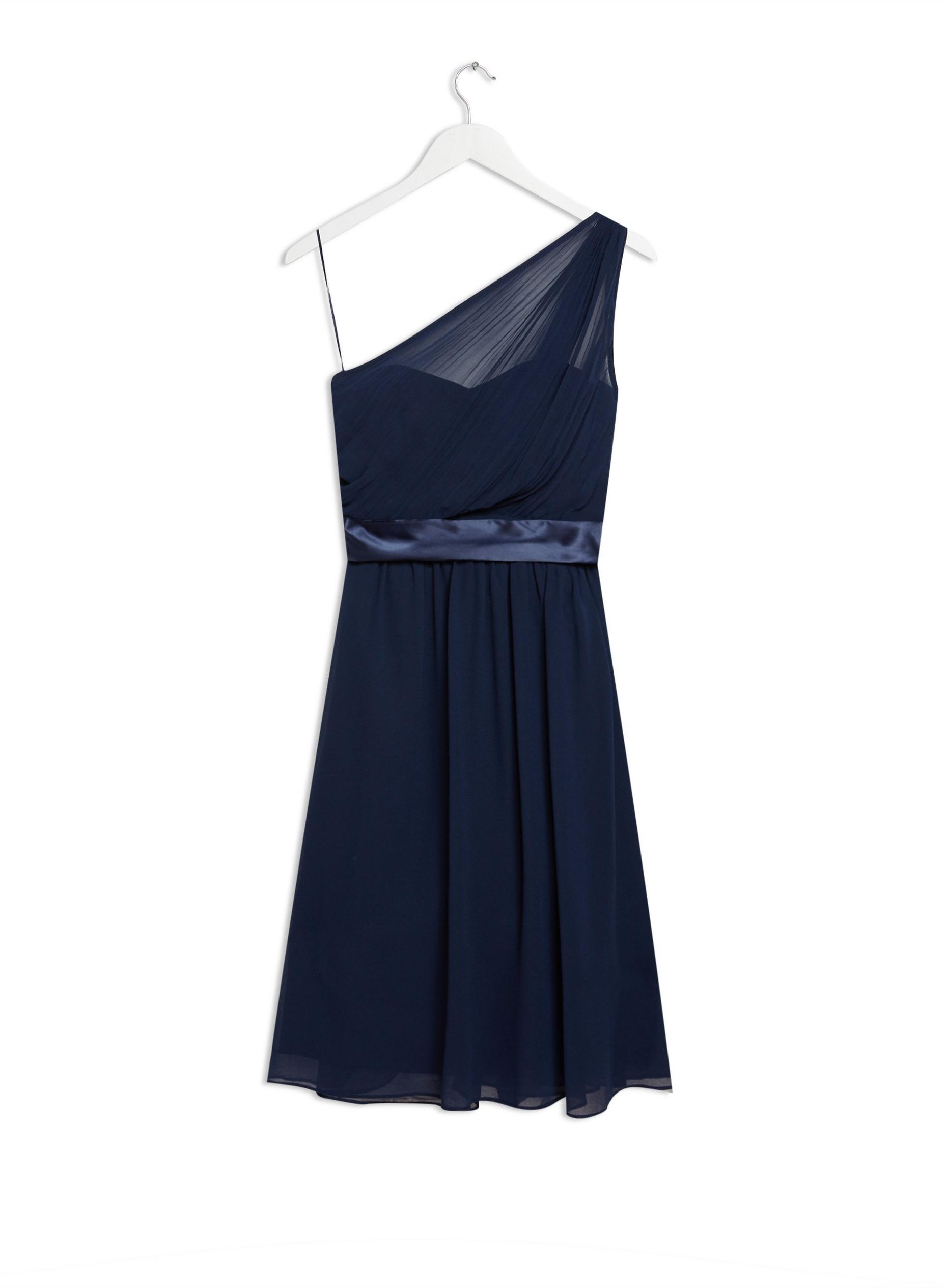 Navy Jenni Midi Dress