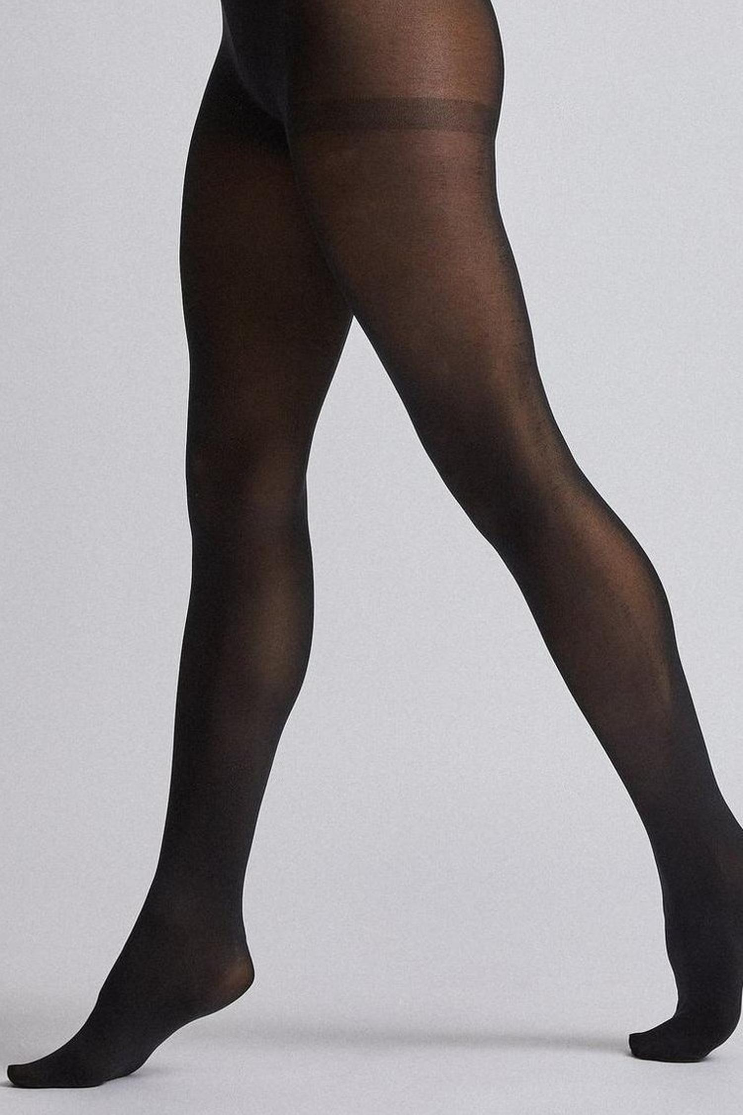 105 Black 40 Denier two Pack Tights image number 2