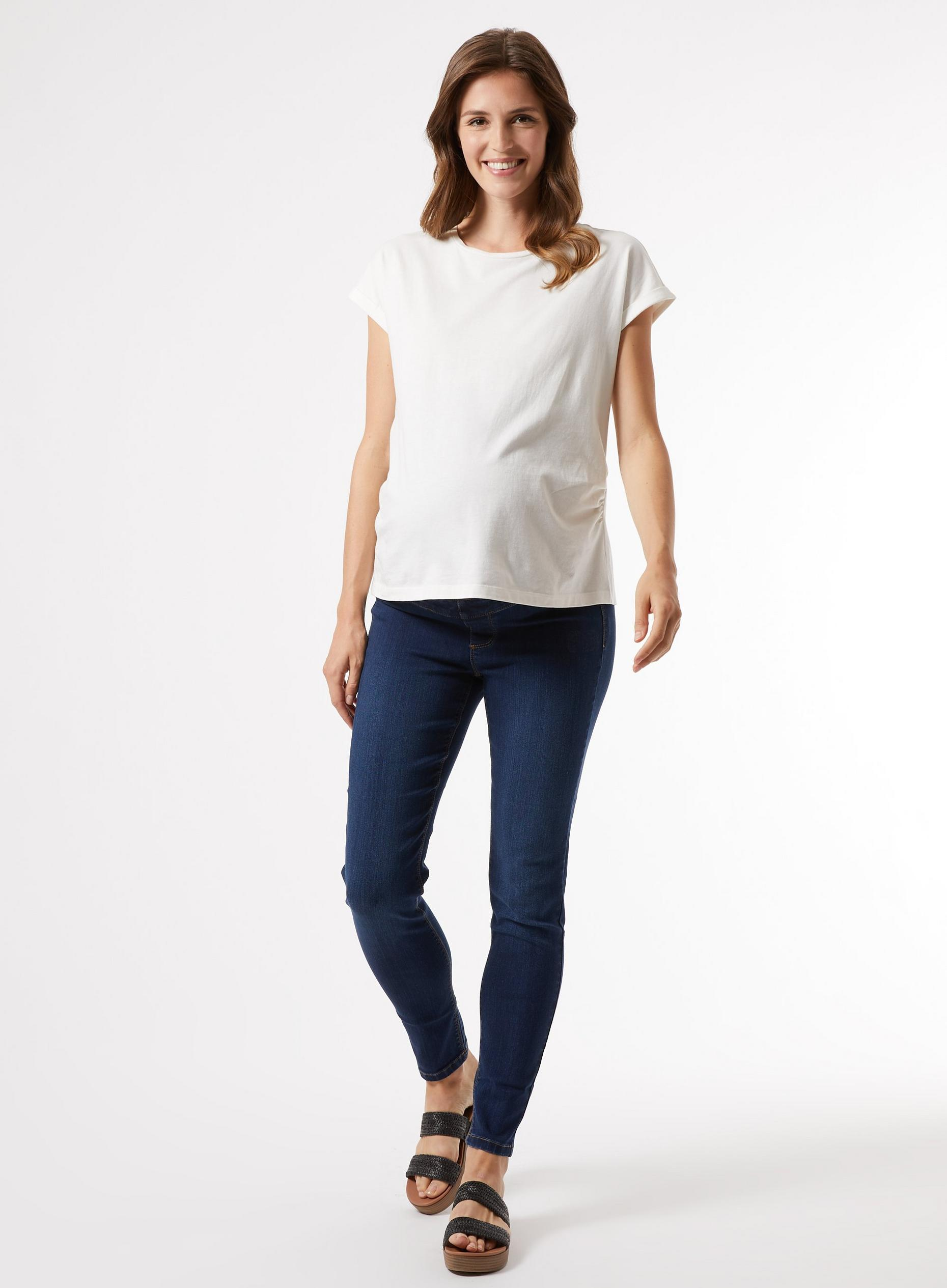 Maternity Indigo Over Bump Frankie Jeans