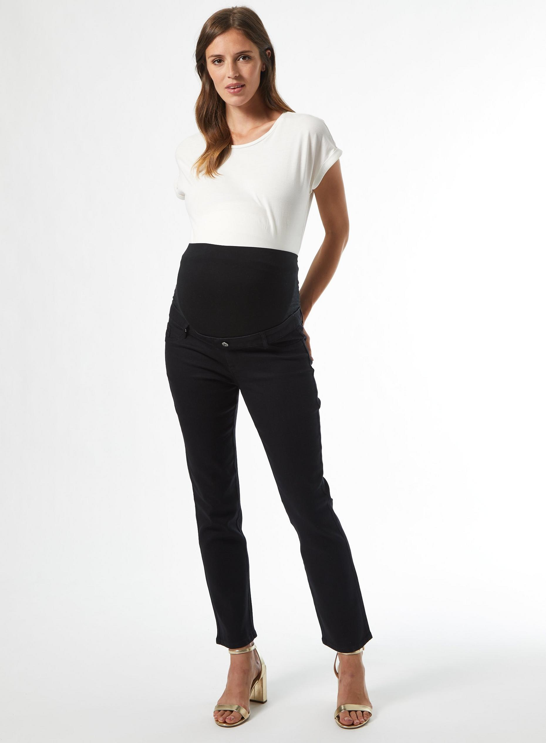 Maternity Black Ellis Slim Jeans