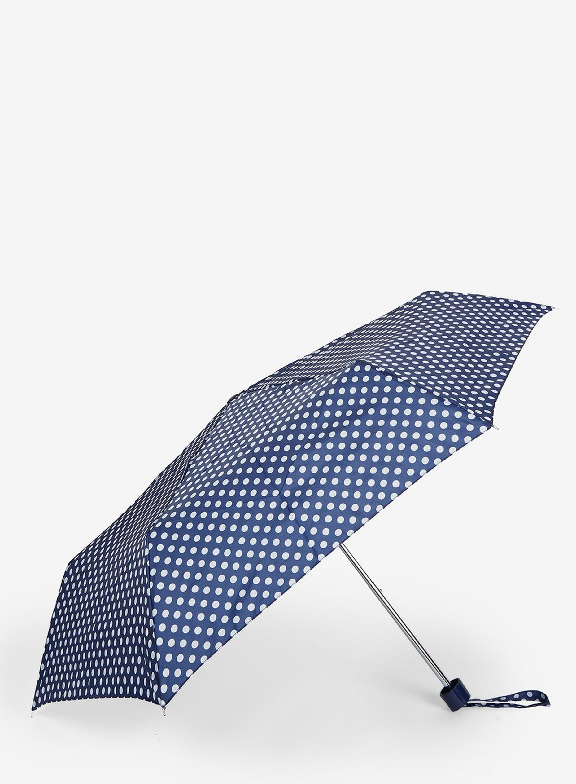 Navy Spot Umbrella