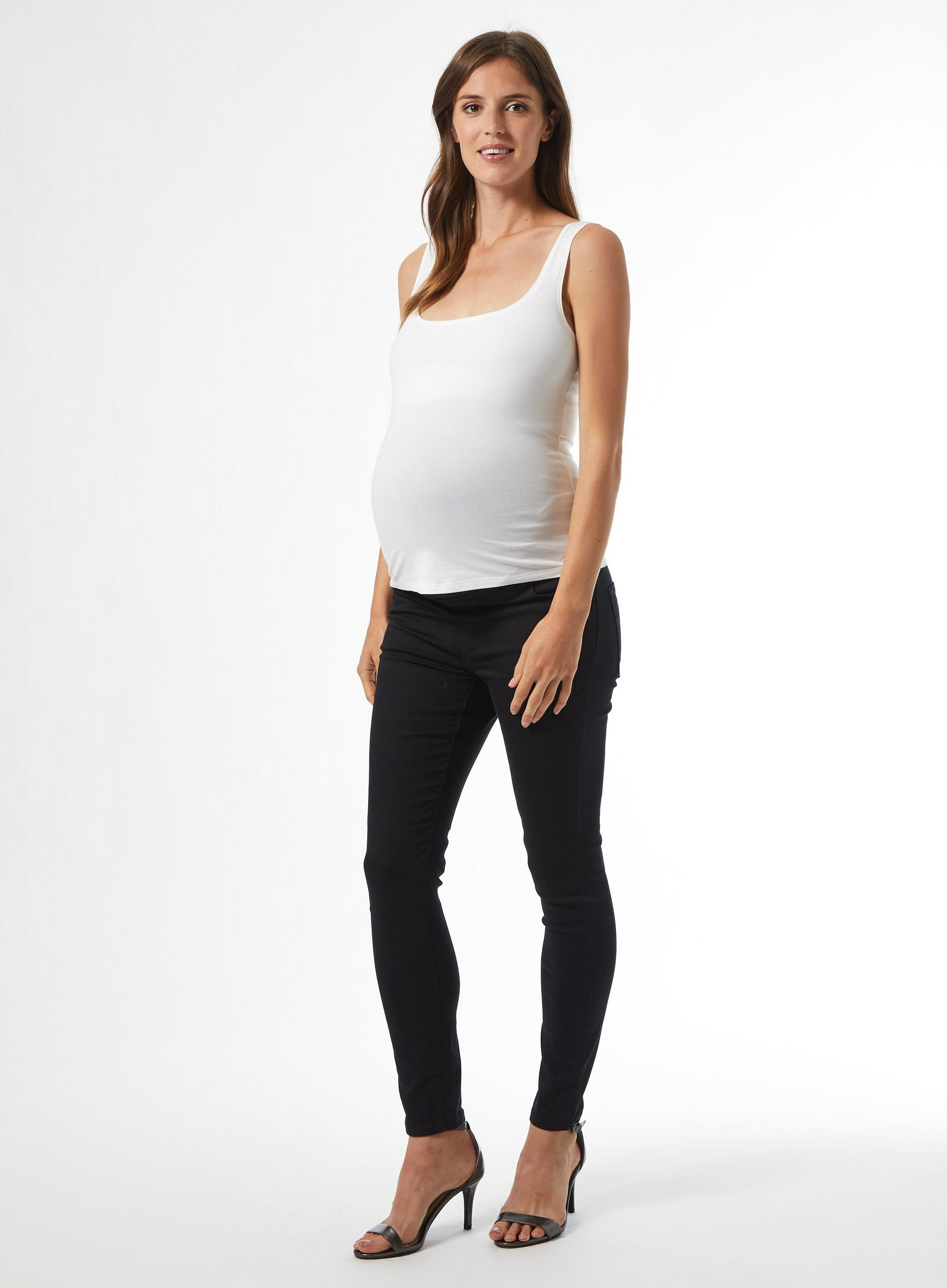 Maternity Black Alex Denim Jeans
