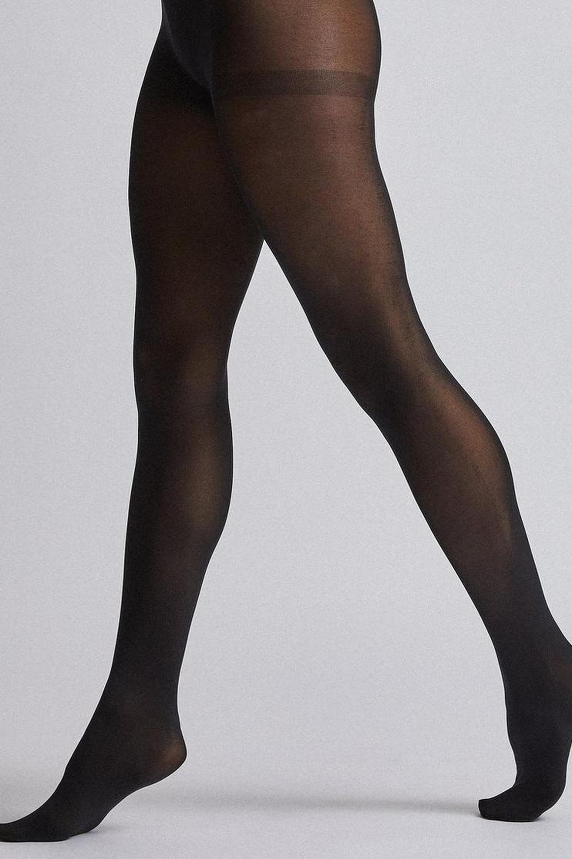 Black 60 Denier two Pack Tights
