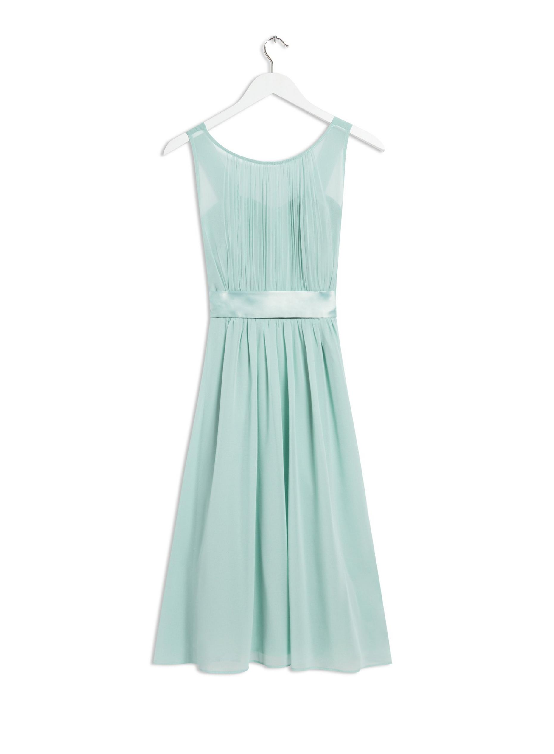 Green Bethany Bridesmaid Midi Dress