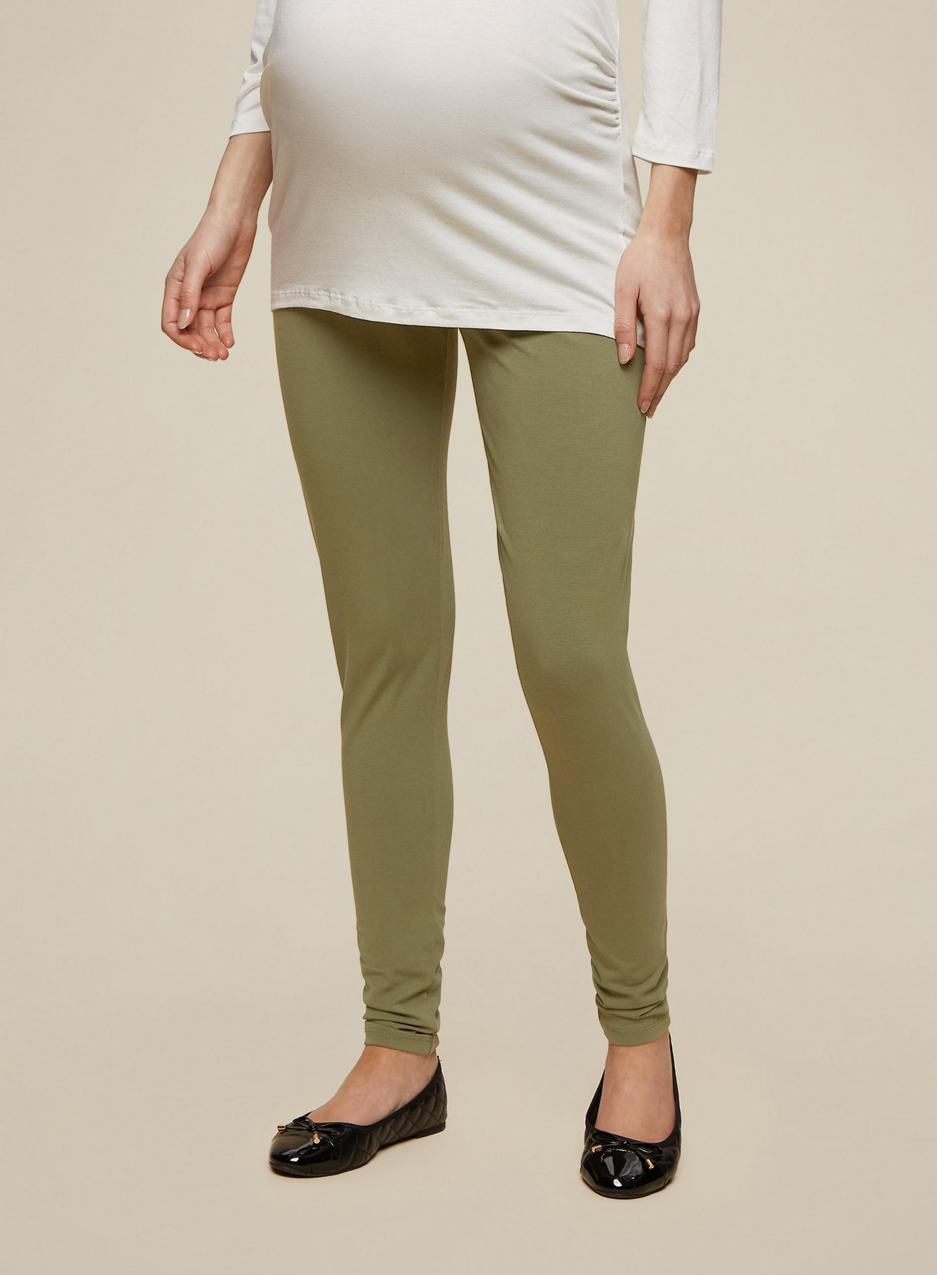 Maternity Khaki Underbump Leggings