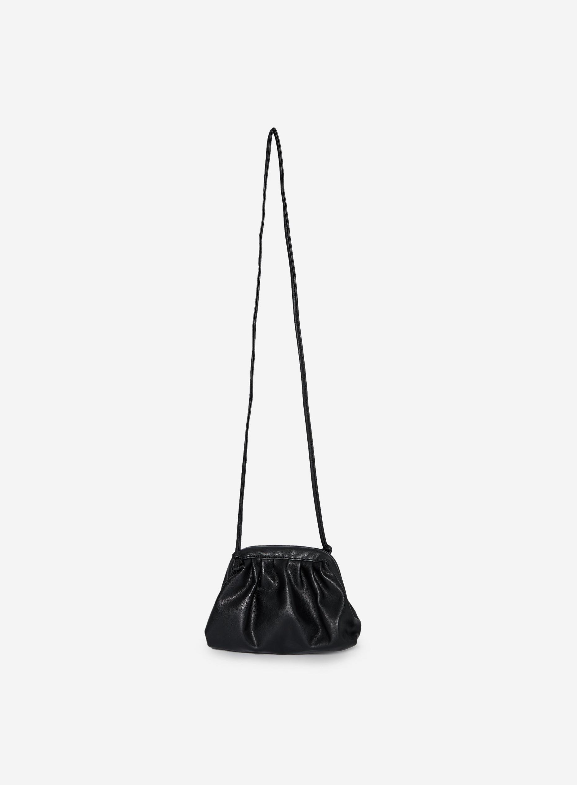 Black Mini Pouch Crossbody Bag