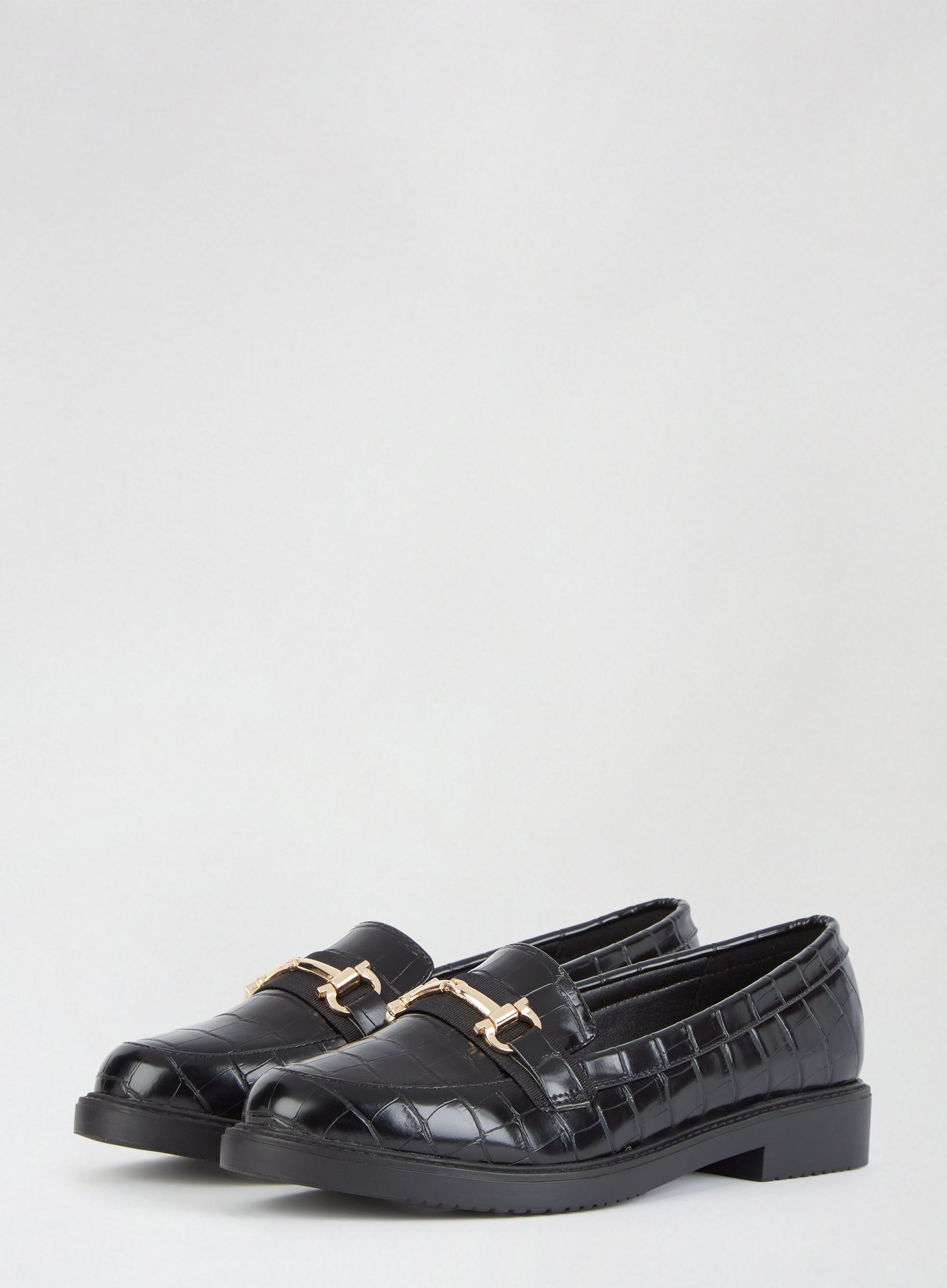 Black Liberty Loafers