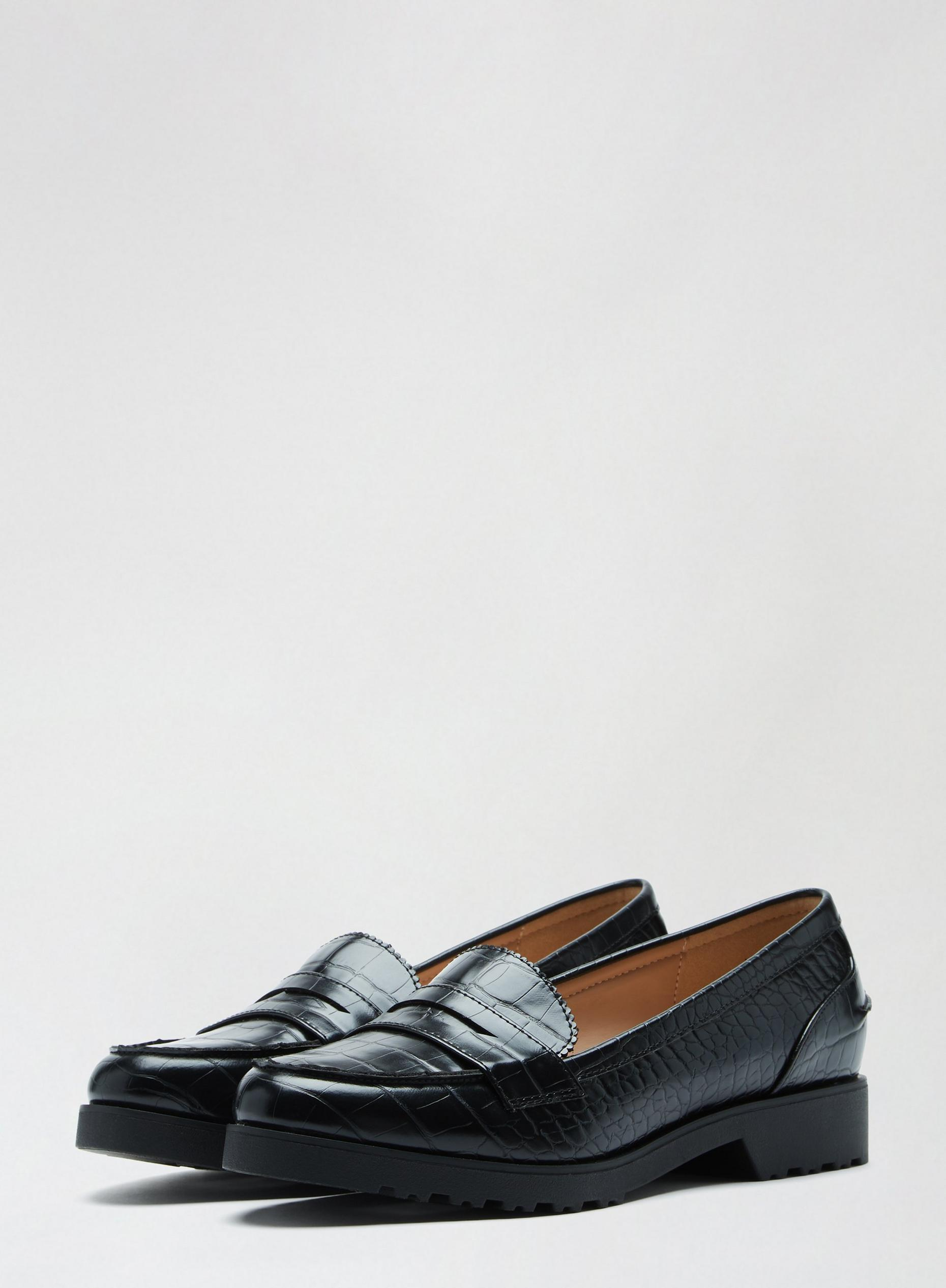 Black Lincoln Loafers