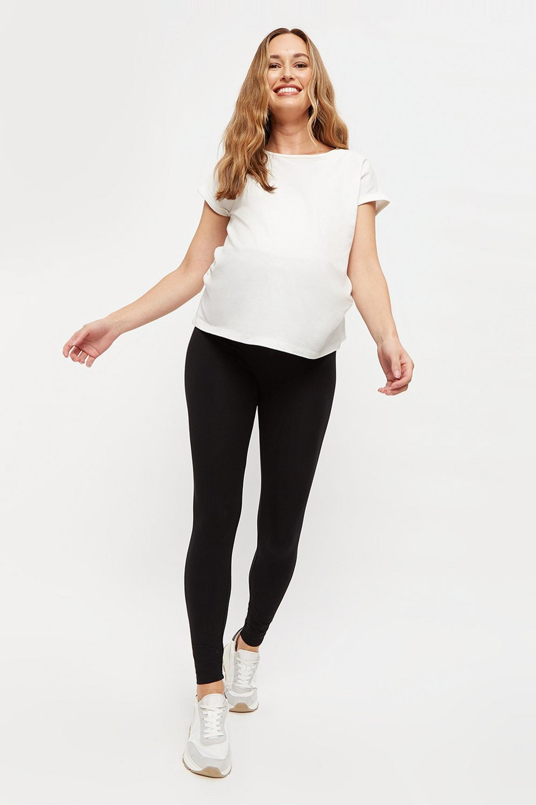 Maternity Black Leggings