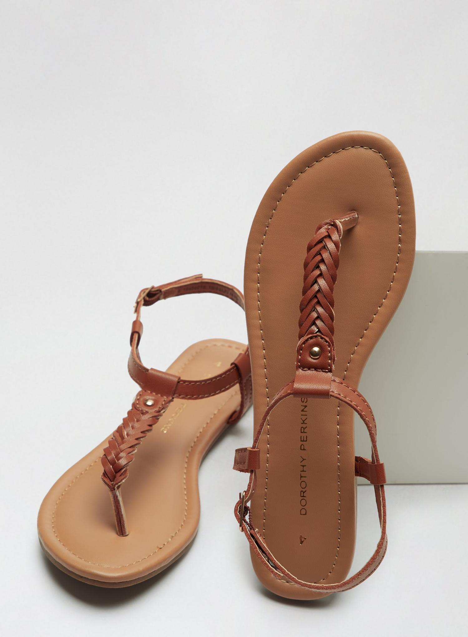 109 Tan Free Sandals image number 3